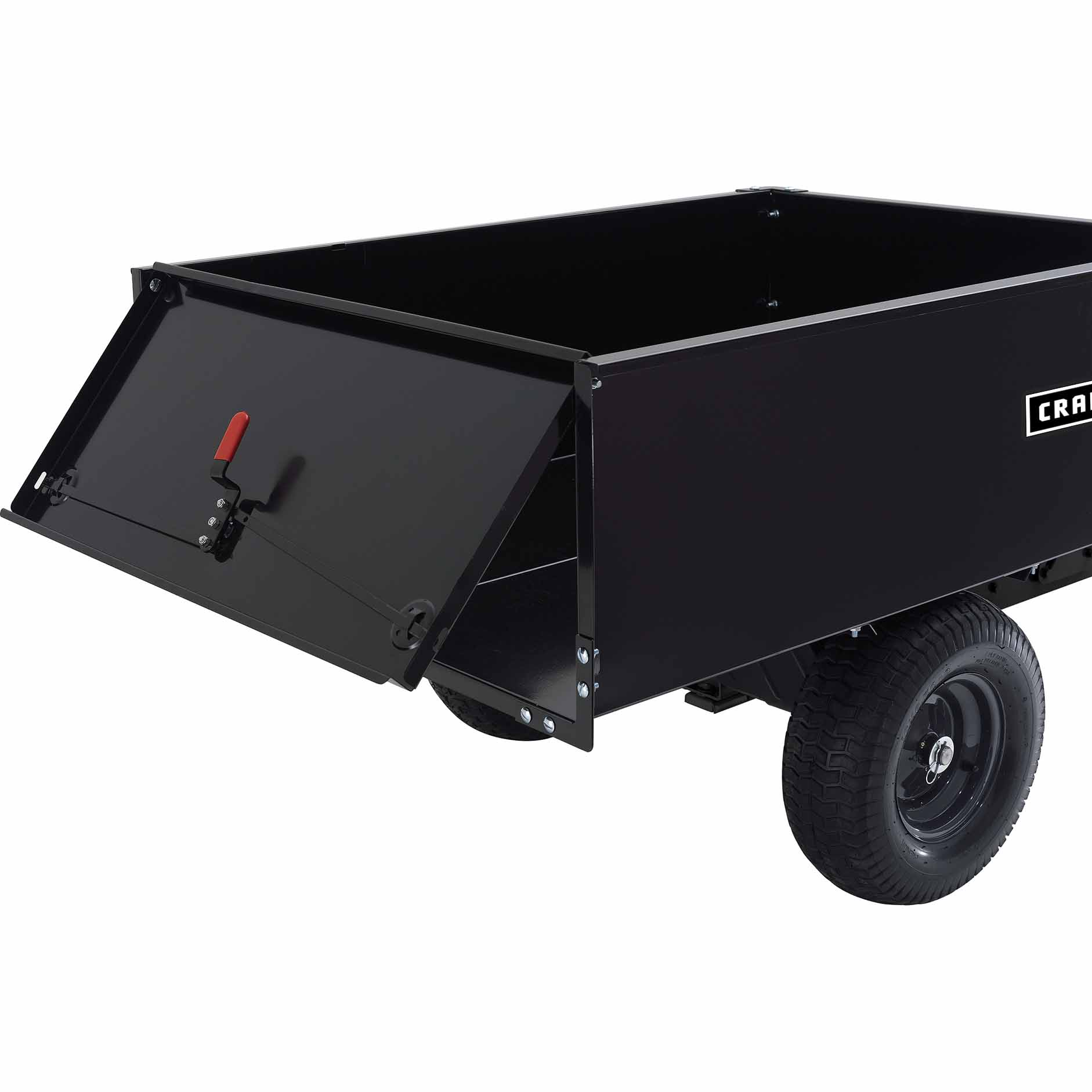 Craftsman 16 cu. ft. Steel Swivel Dump Cart