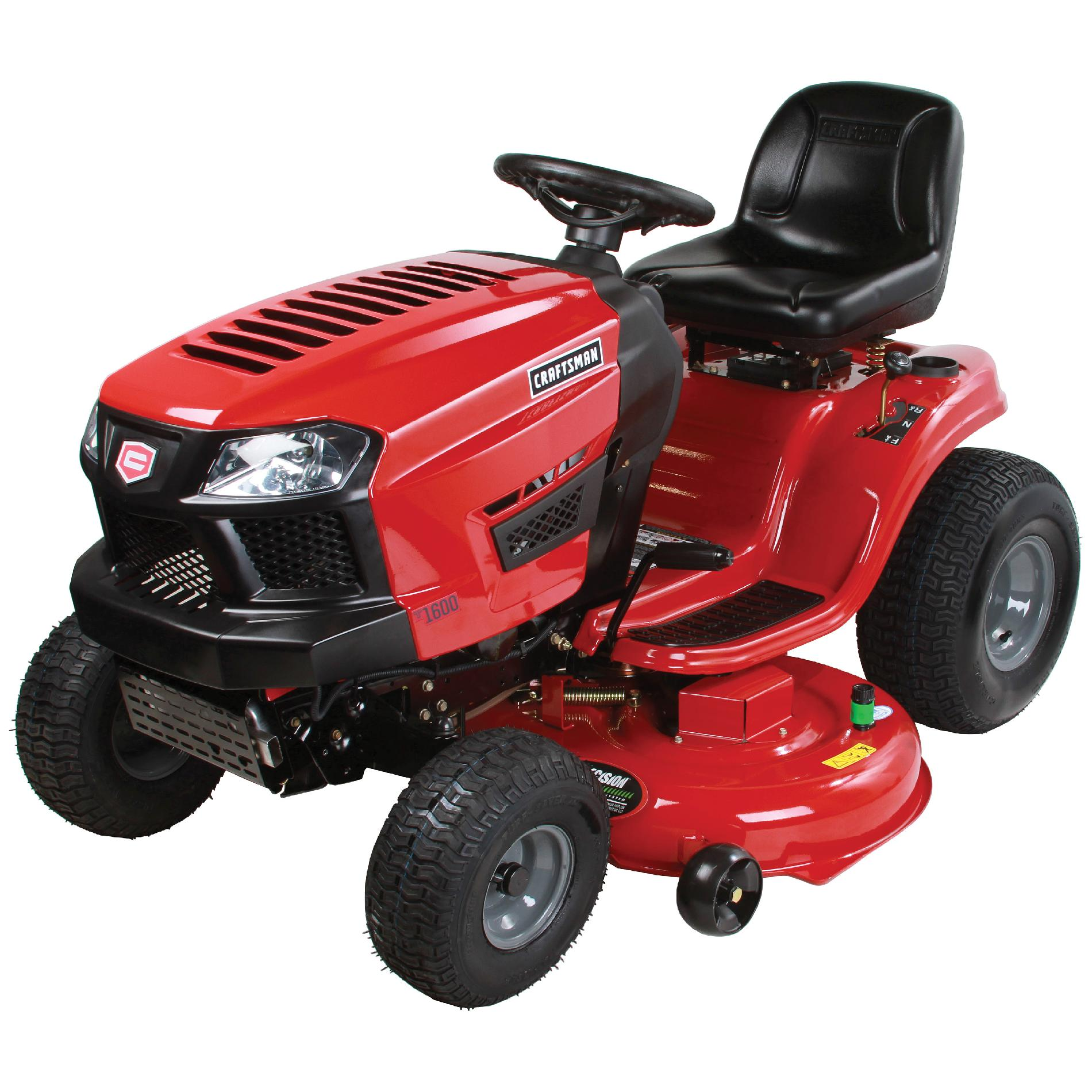 "Craftsman 46"" Auto 19HP Briggs & Stratton Riding Mower- CA Only"