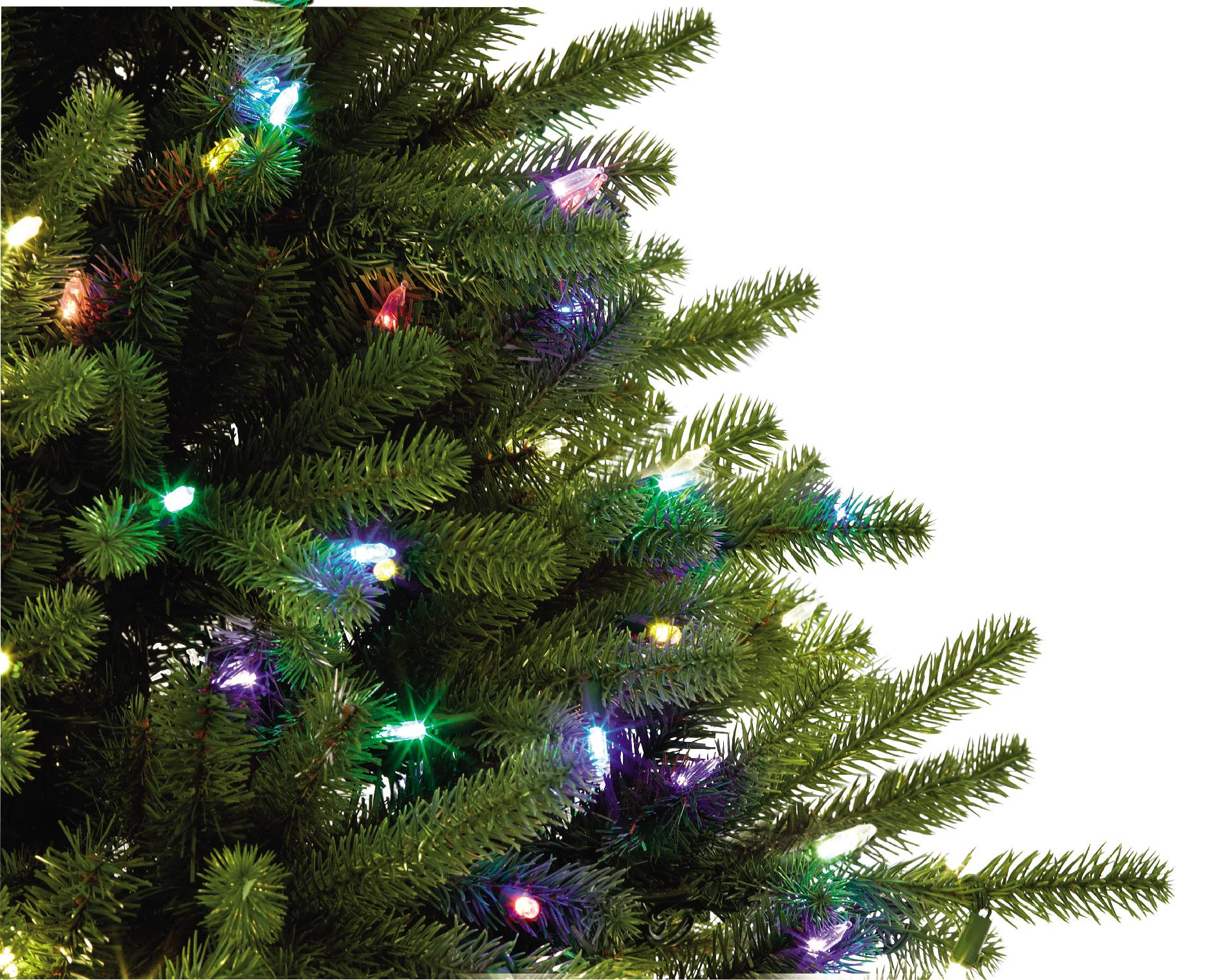 Color Switch Plus 7.5 Foot Color Switch Plus Sonoma Spruce Quick Set Christmas Tree