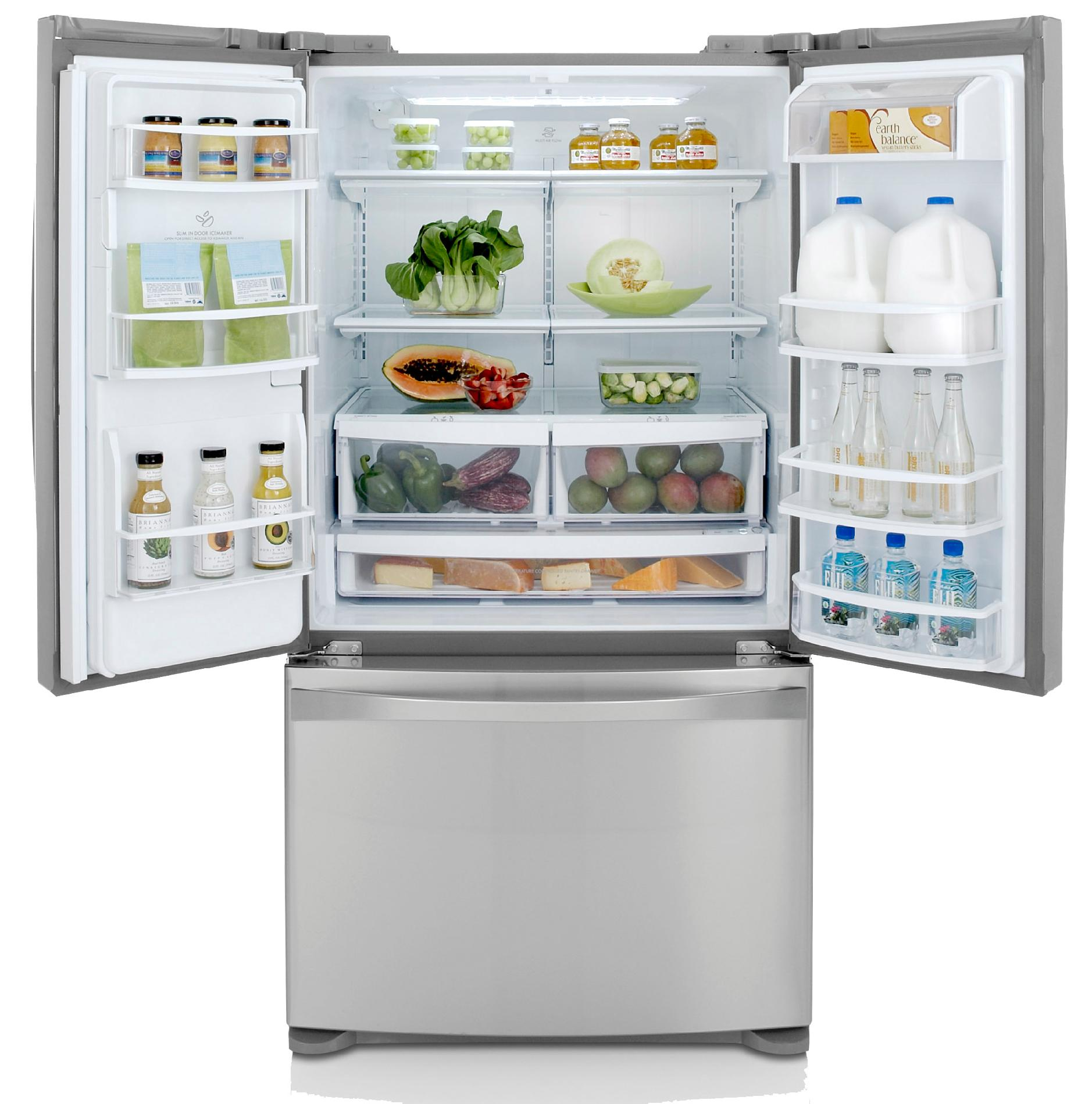 Kenmore Elite 27.6 cu. ft. French Door Bottom-Freezer Refrigerator - Stainless Steel