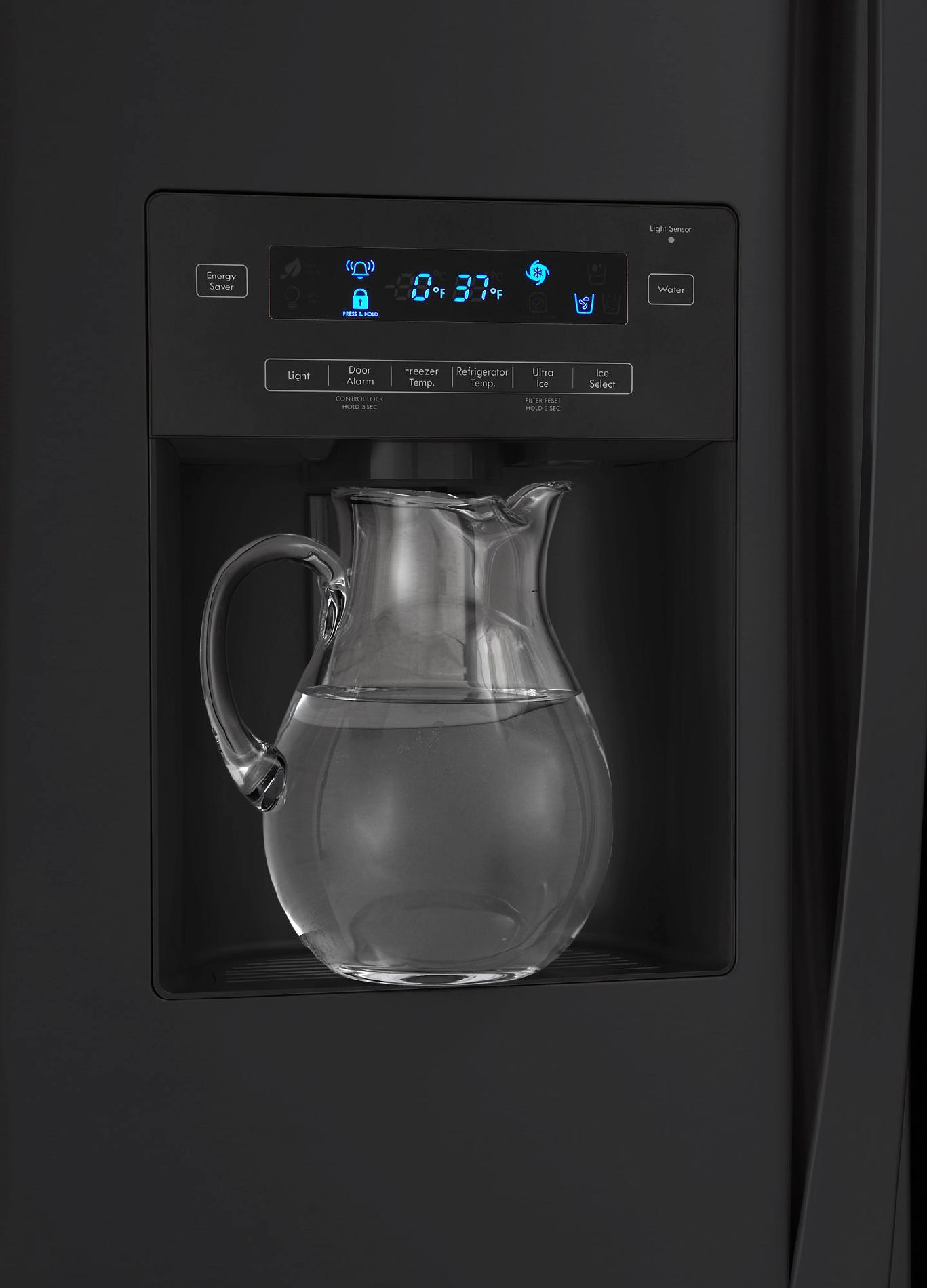 Kenmore Elite 27.6 cu. ft. French Door Bottom-Freezer Refrigerator - Black