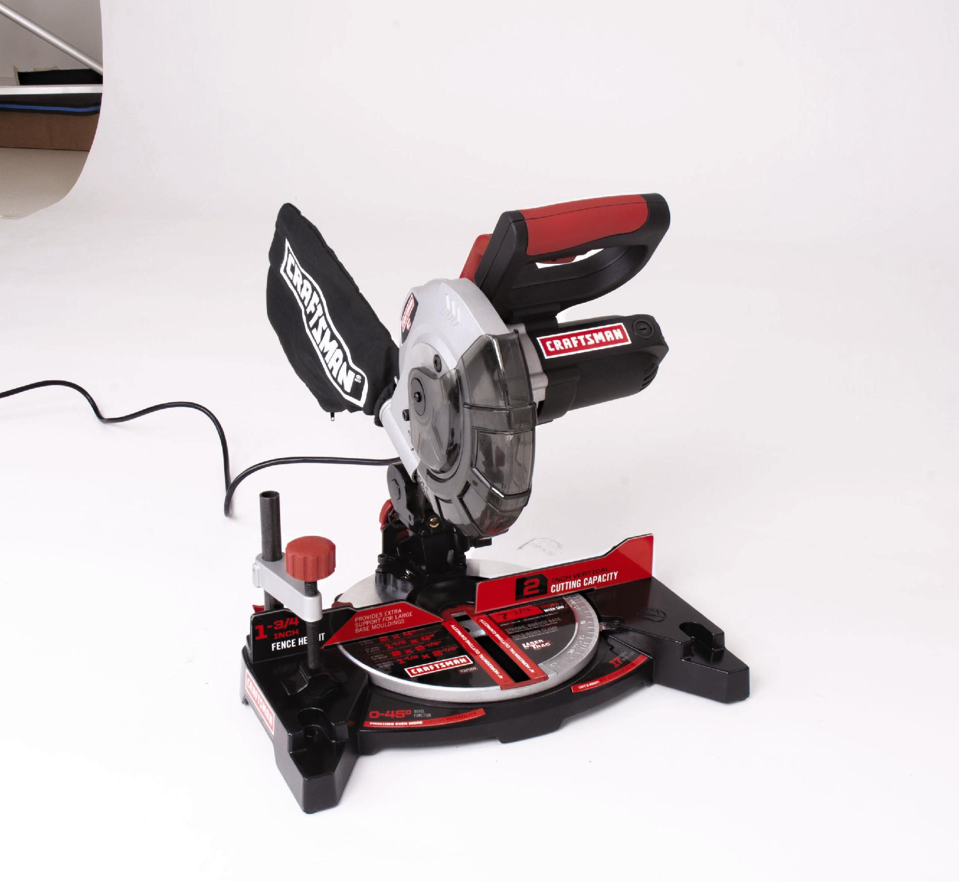 Craftsman 7-1/4-Inch Compound Miter Saw