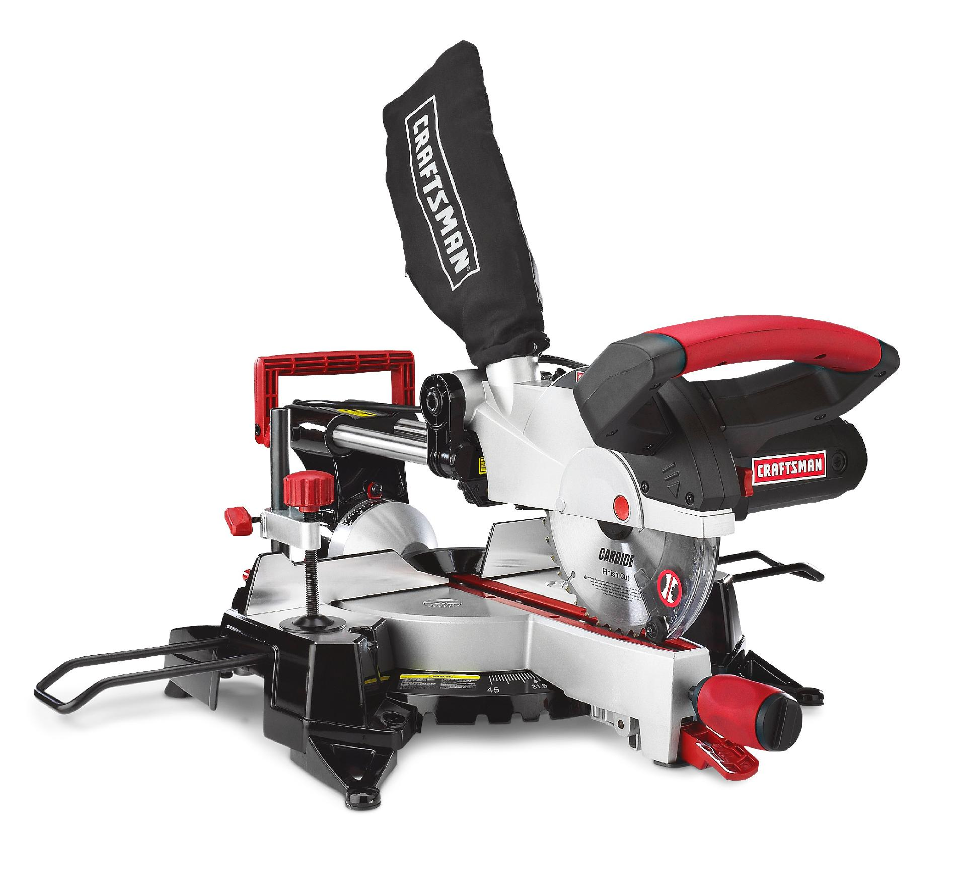 Craftsman 7-1/4-Inch Sliding Compound Miter Saw
