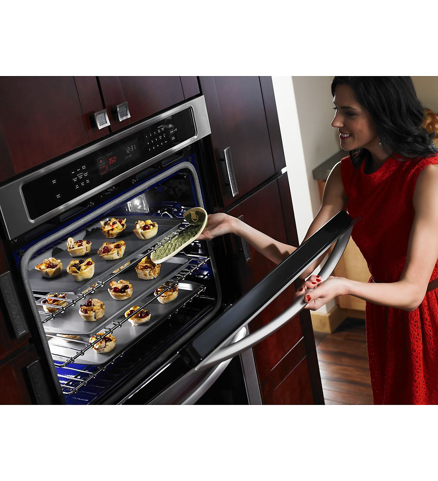 """KitchenAid 30"""" Built-in Double Oven with Even-Heat™ Technology - Stainless Steel"""