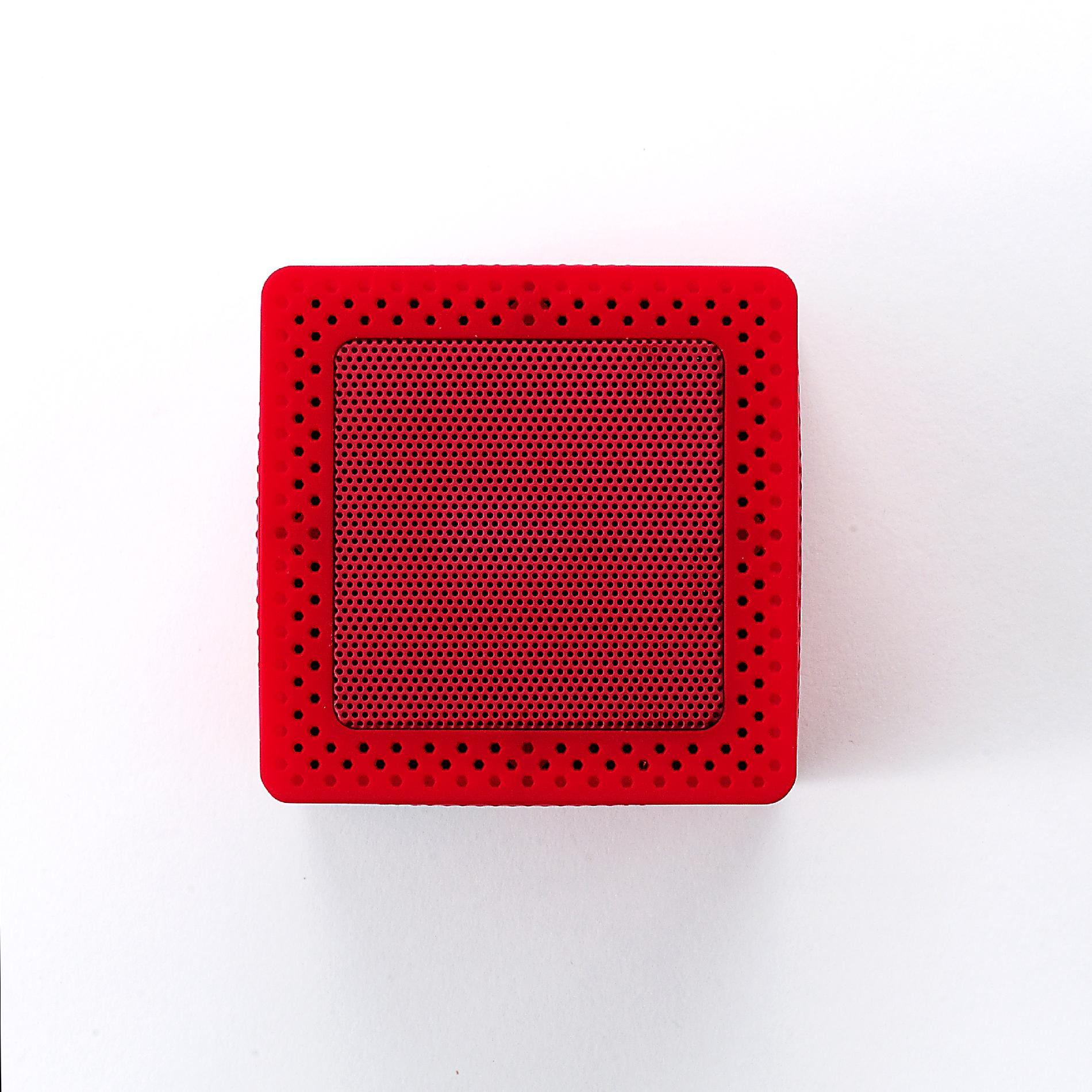 BEM WIRELESS Red Mobile Bluetooth Speaker
