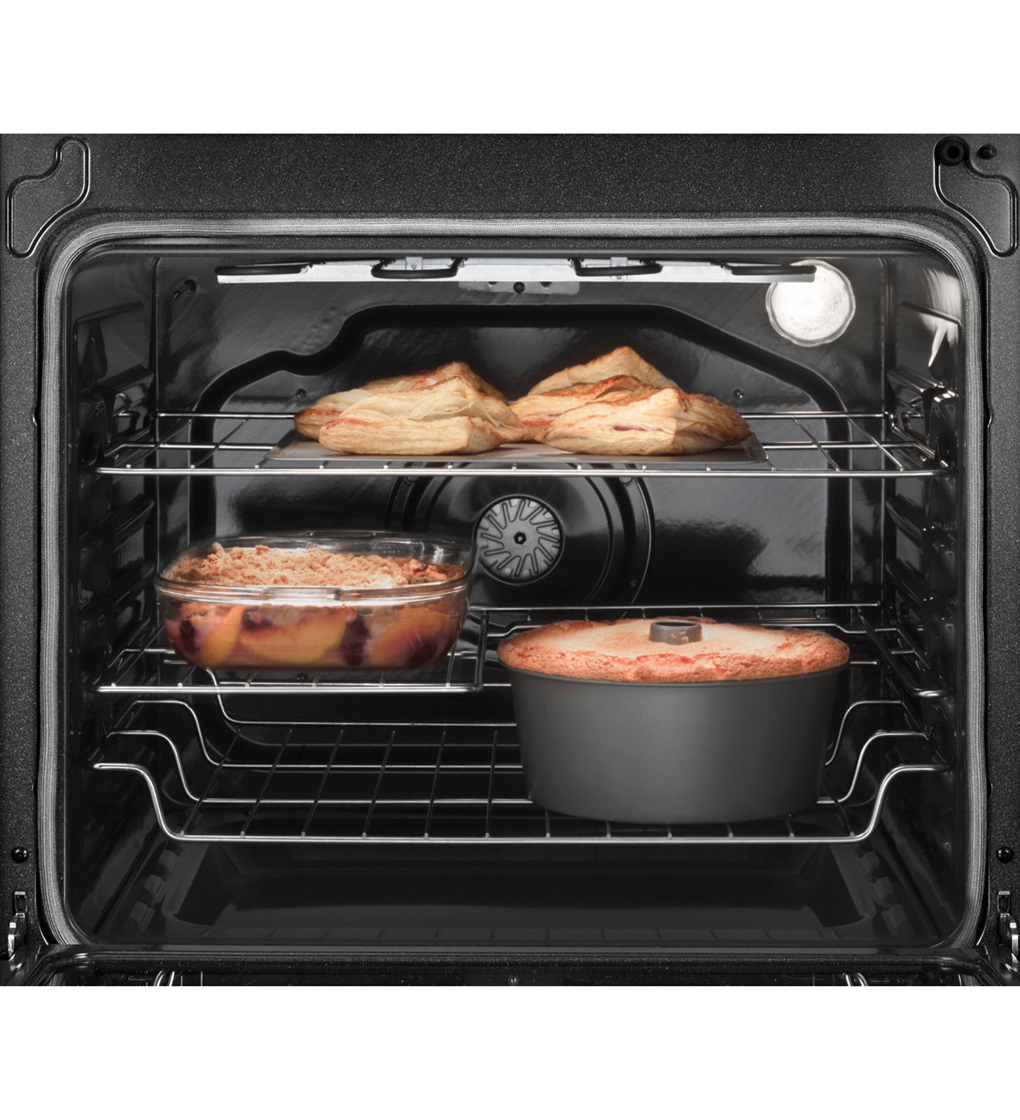 Whirlpool 6.2 cu. ft. Electric Range w/ True Convection - Black Ice