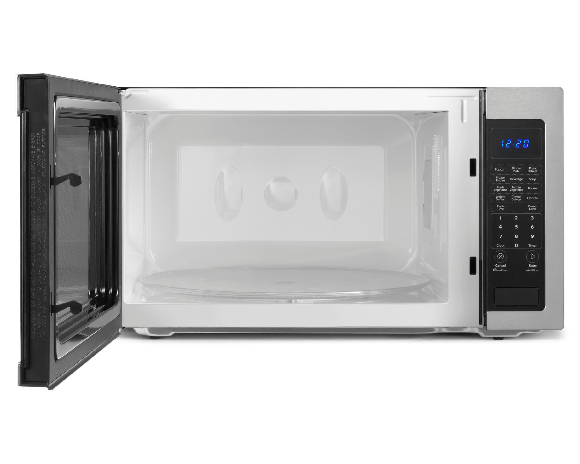 Whirlpool WMC50522AS 2.2 cu. ft. Countertop Microwave w/ Sensor Cooking - Stainless Steel