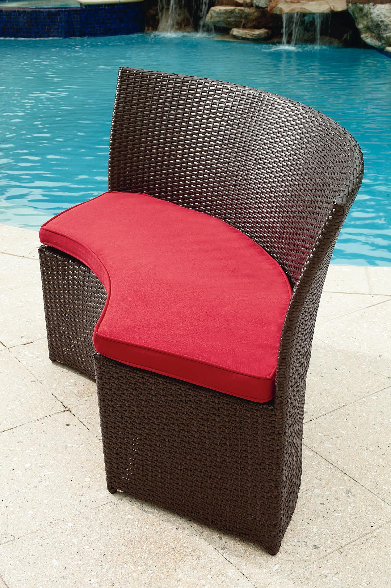 Grand Resort Osborn 7 Piece Round Dining Set Featuring Sunbrella&reg Fabric *Limited Availability