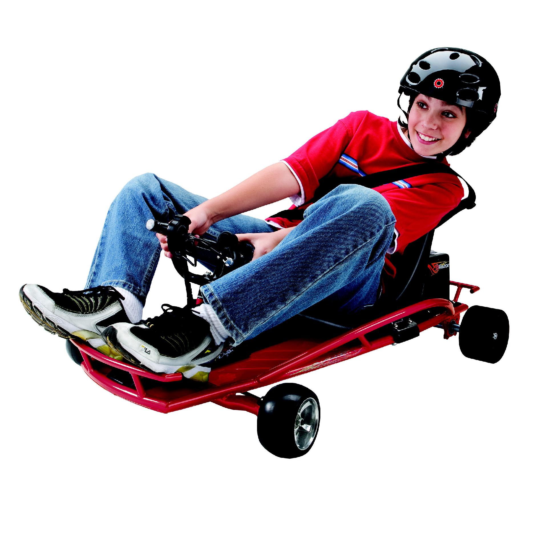 Razor™ 24V Ground Force Drifter Go Cart in Red