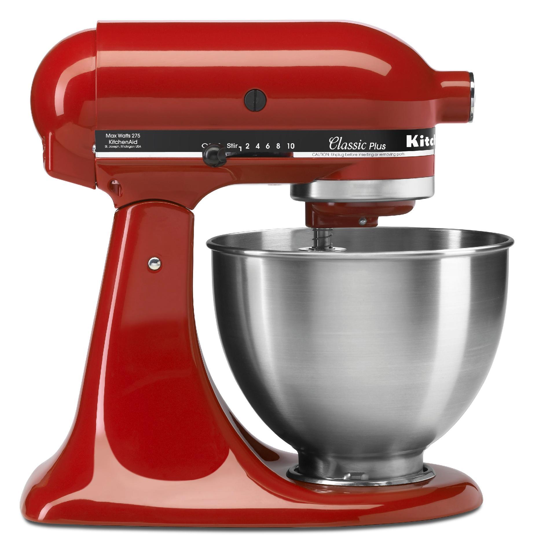 KitchenAid 4.5-Quart Red Classic Stand Mixer
