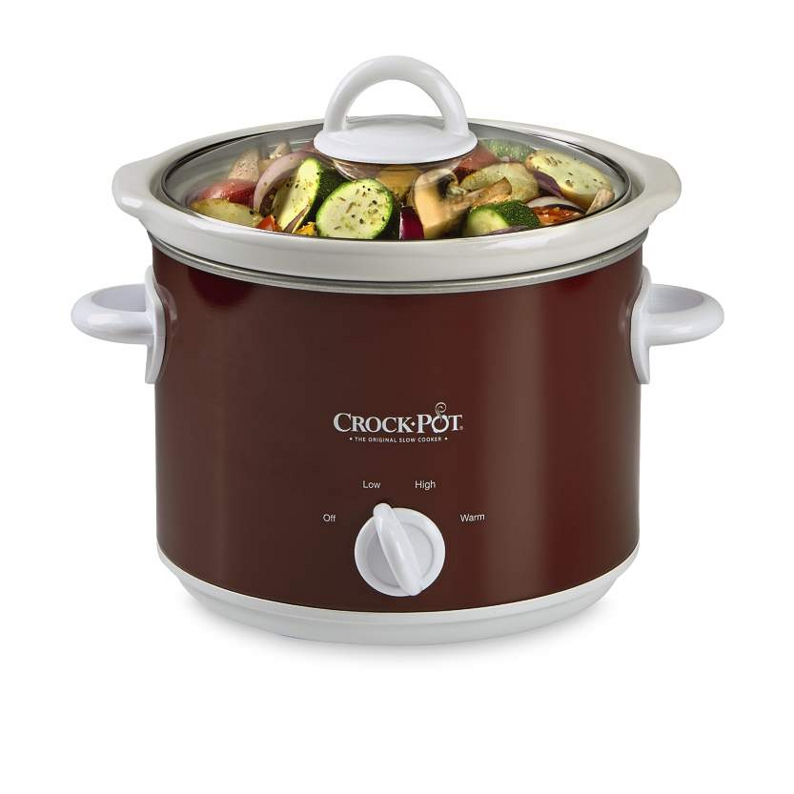 Crock Pot 3 Qt. Manual Slow Cooker, Red