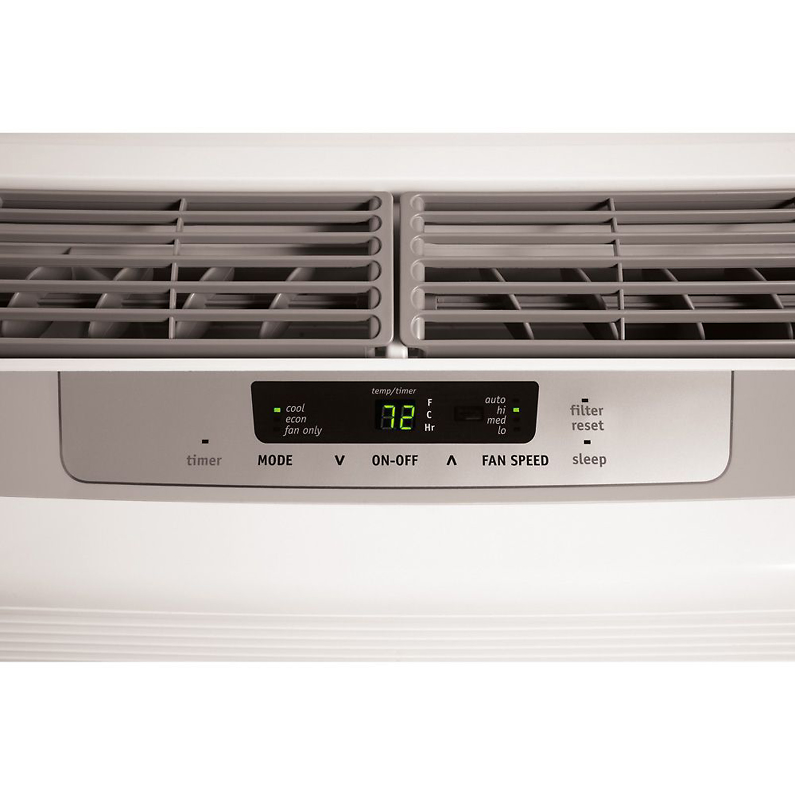 Frigidaire 6,000 BTU 115-Volt Low Profile Window-Mounted Air Conditioner with Full-Function Remote Control