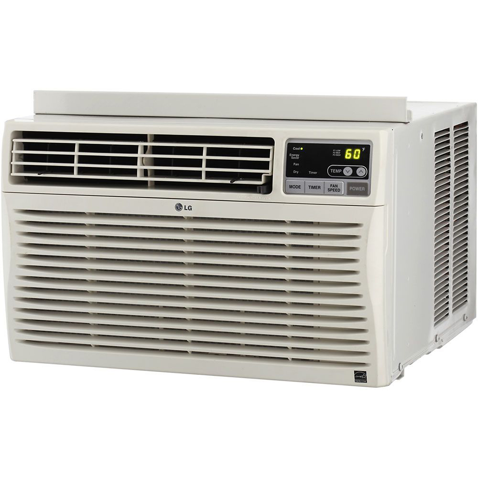 LG Electronics 8,000 BTU Window-Mounted Air Conditioner with Remote Control (115 volts)