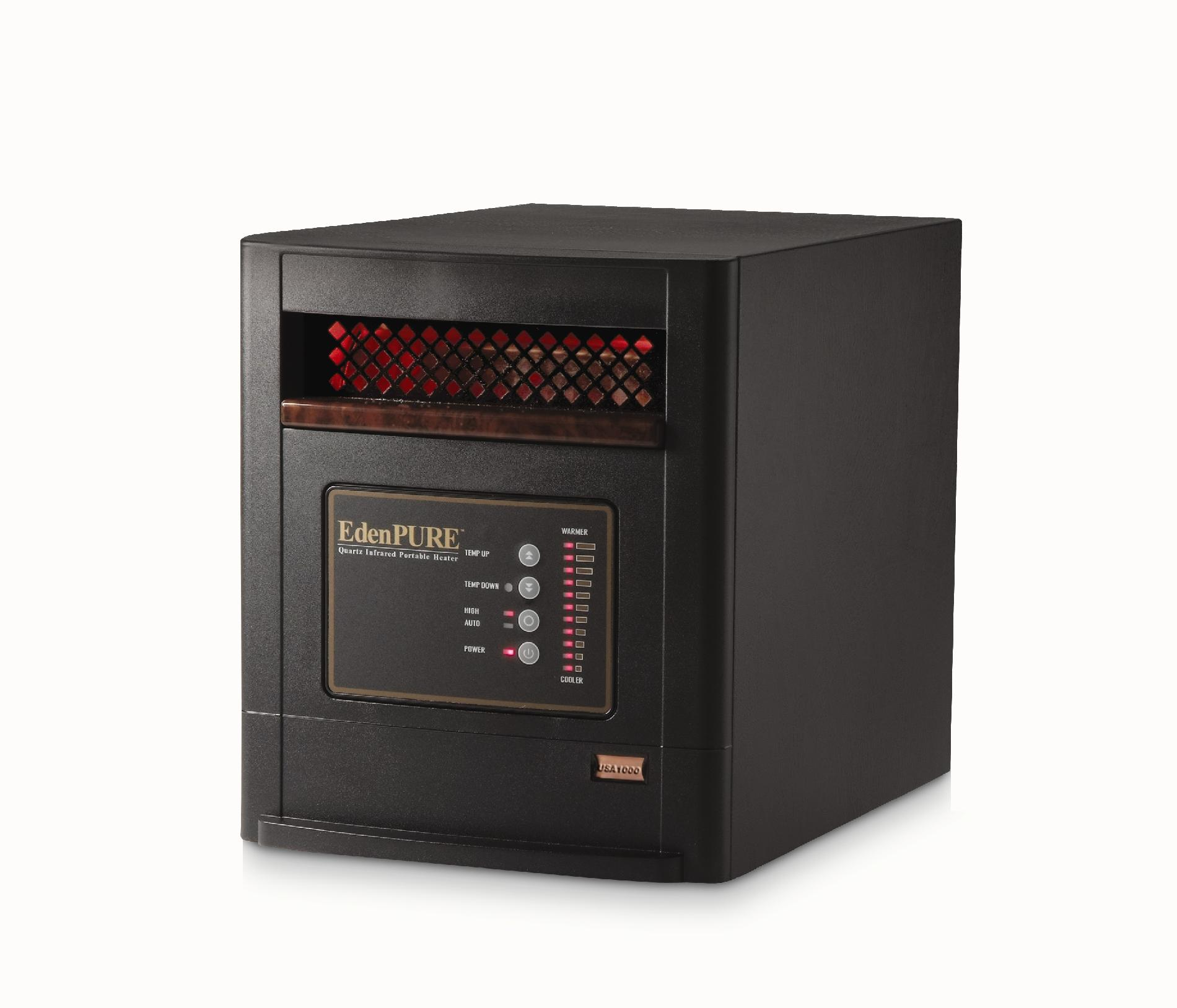 EdenPURE US1000 Portable Quartz Infrared Heater
