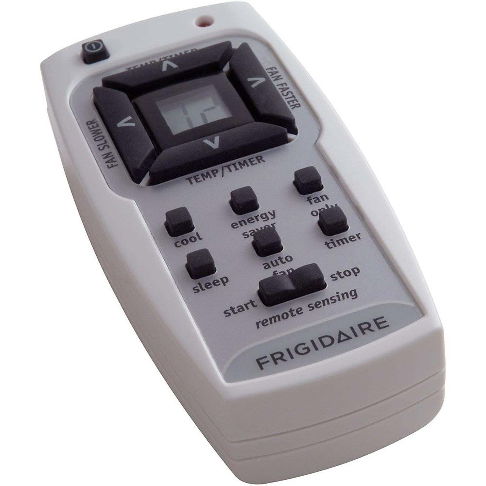 Frigidaire 10,000 BTU 115-Volt Window-Mounted Compact Air Conditioner with Temperature Sensing Remote Control
