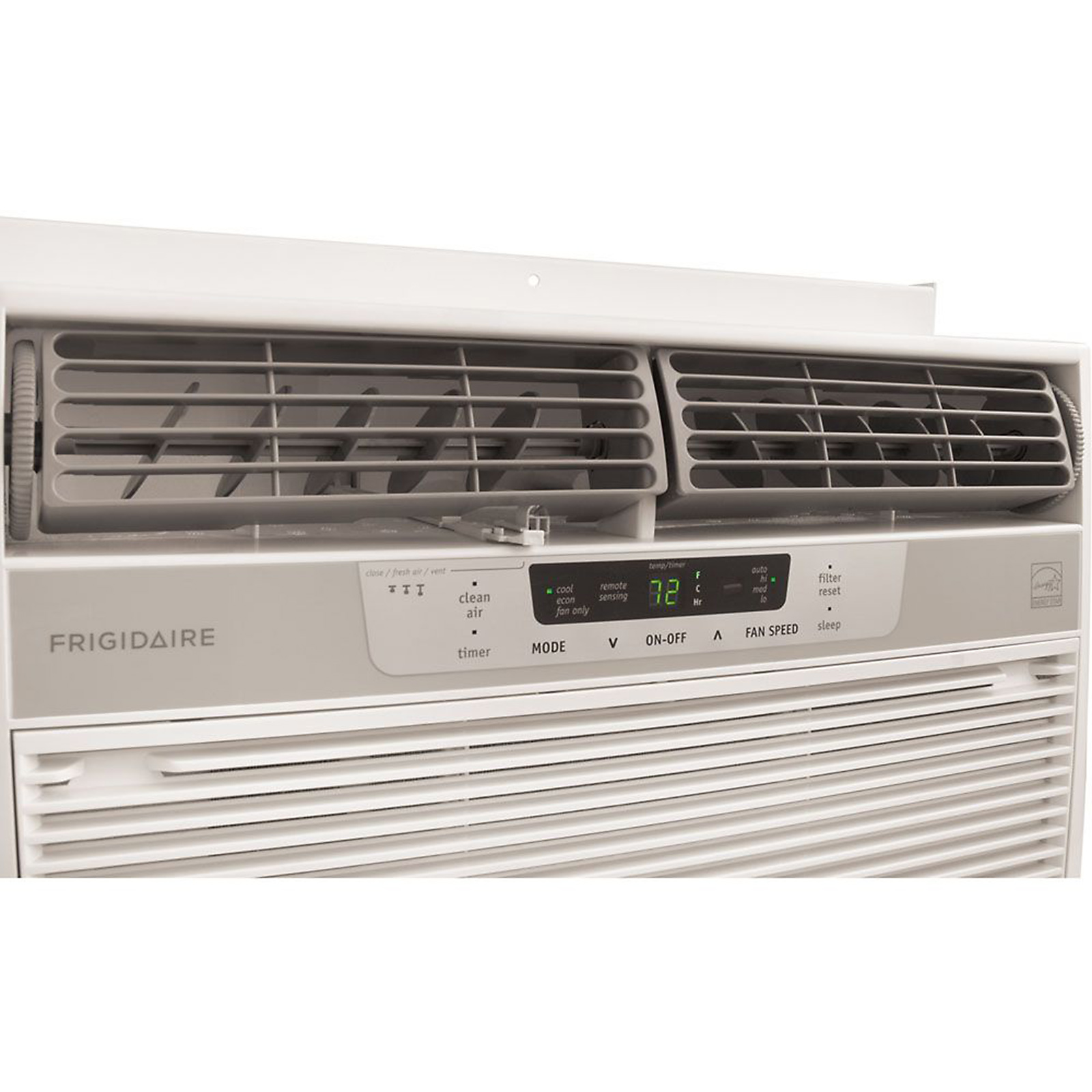 Frigidaire 10,000 BTU 115-Volt Window-Mounted Compact Air Conditioner with Temperature Sensing Remote Control
