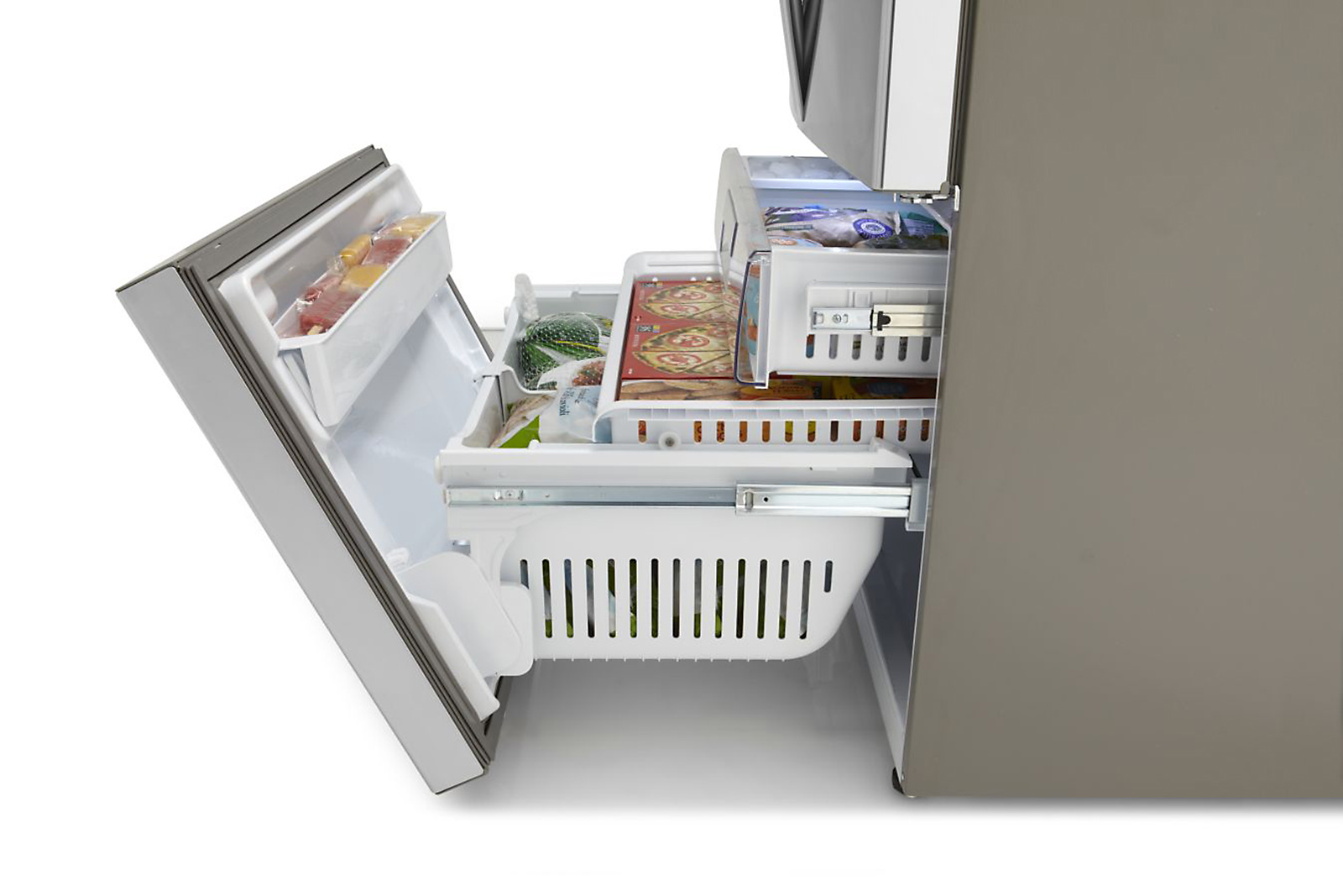 Kenmore Elite 31.0 cu. ft. French Door Bottom-Freezer Refrigerator - Stainless Steel