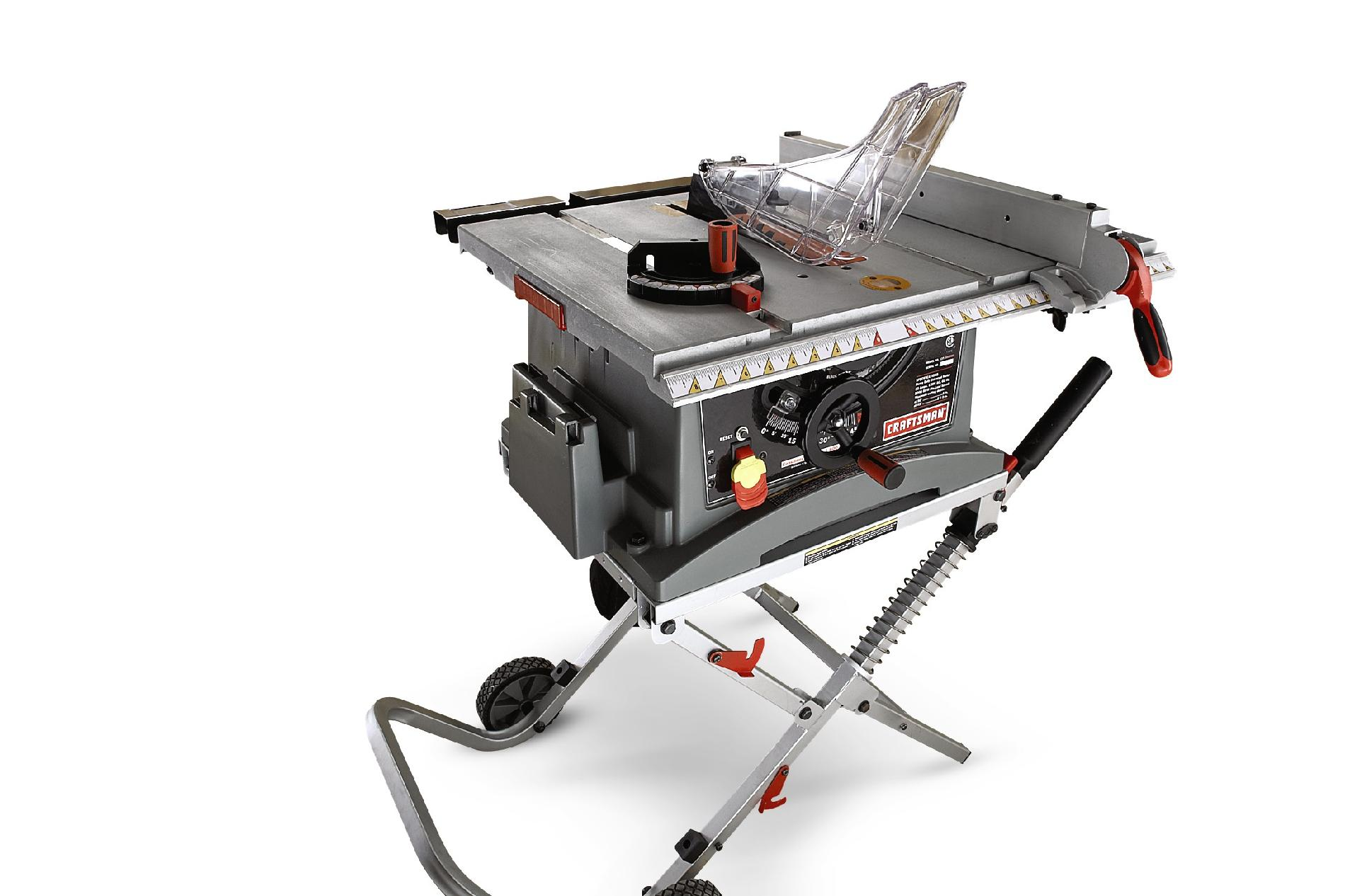 "Craftsman 10"" Jobsite Table Saw with Folding Stand (28463)"