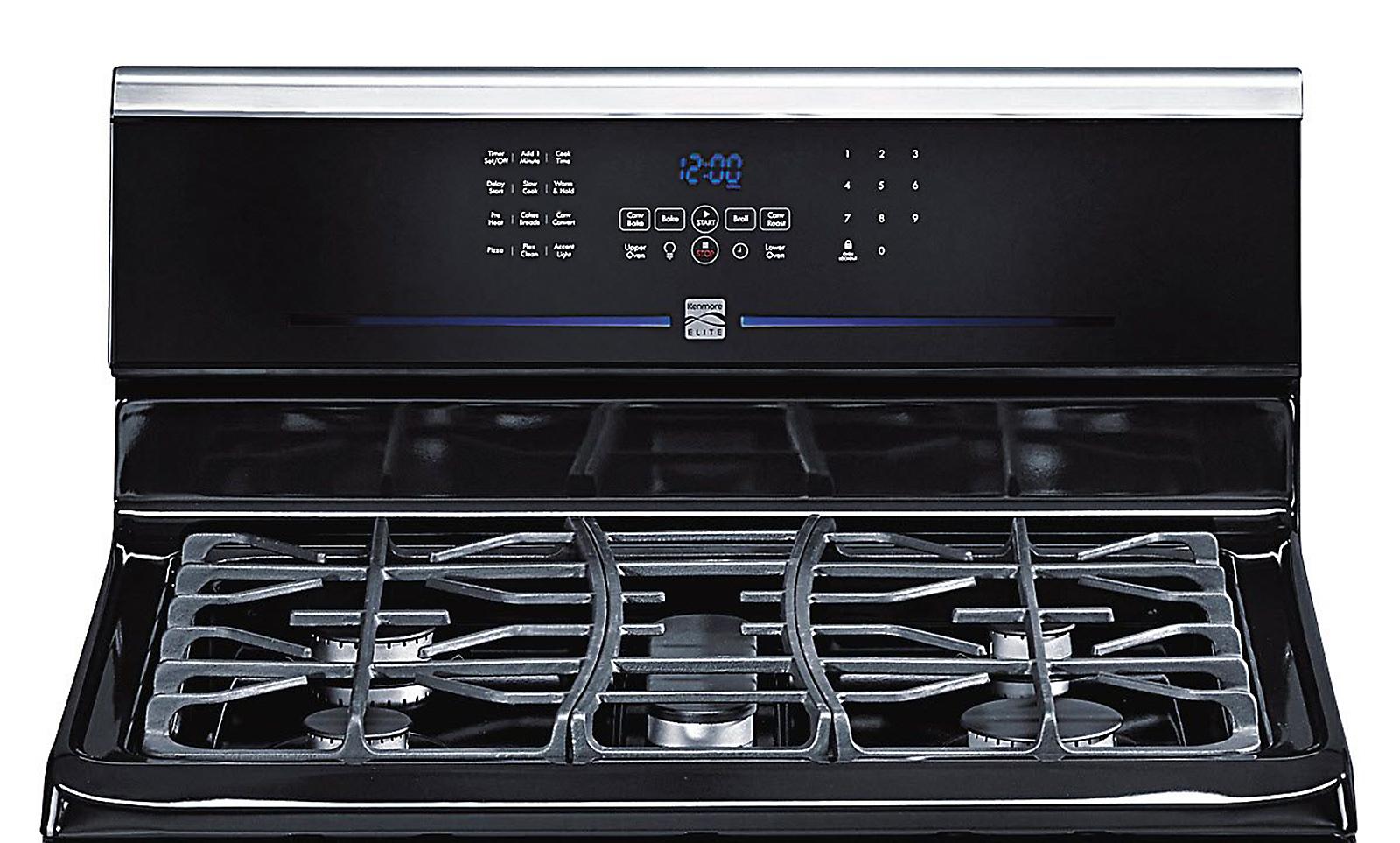 Kenmore Elite 5.8 cu. ft. Double-Oven Gas Range