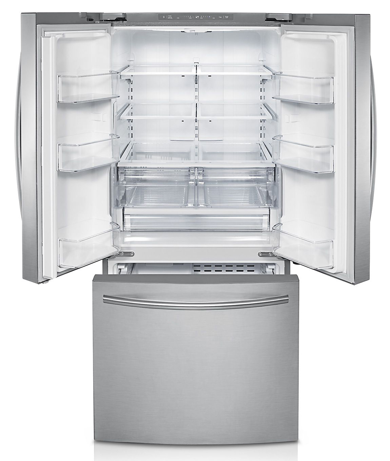 Samsung 22 cu. ft. French Door Refrigerator with Internal Water Dispenser - Silver