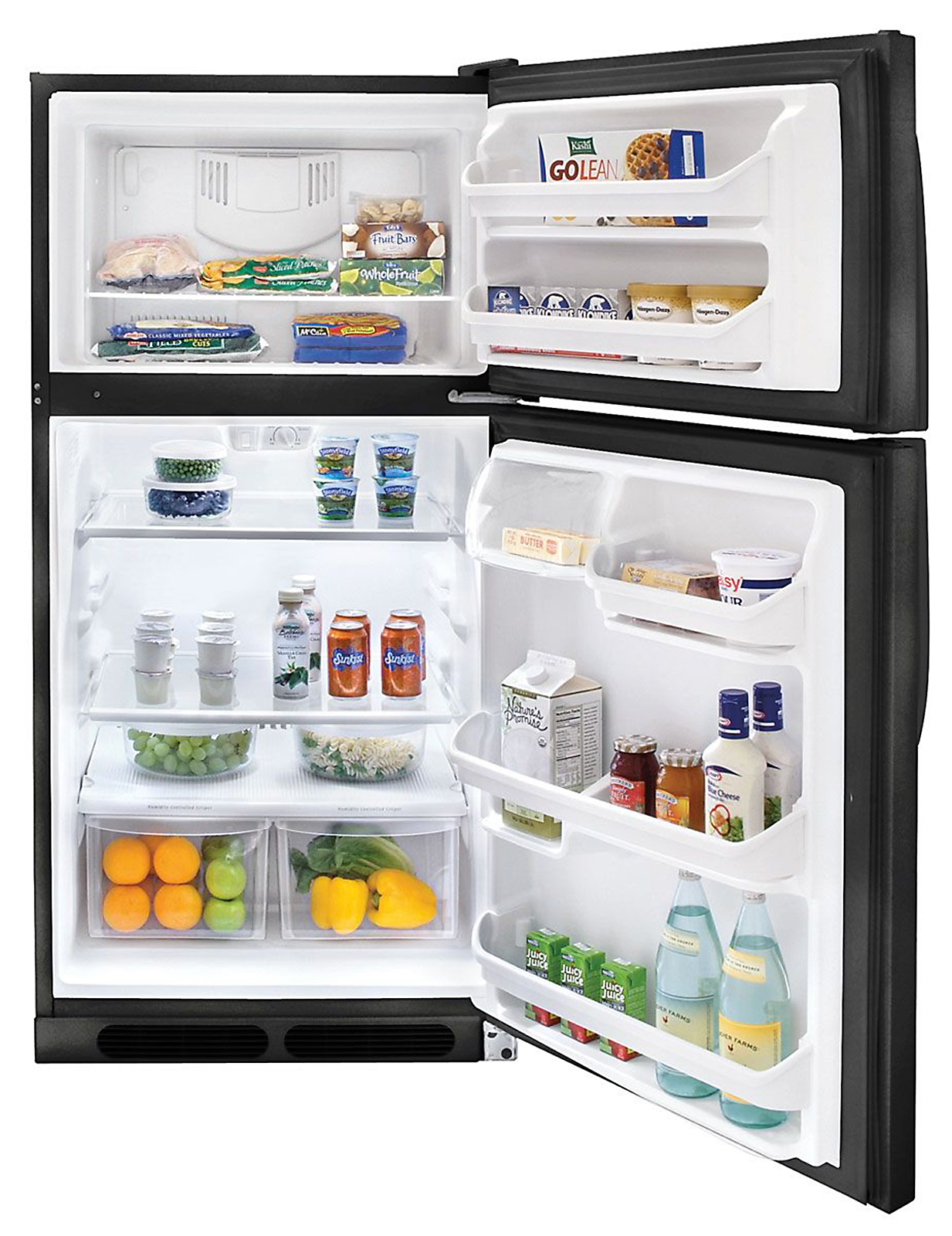 Kenmore 14.8 cu. ft. Top-Freezer Refrigerator - Black