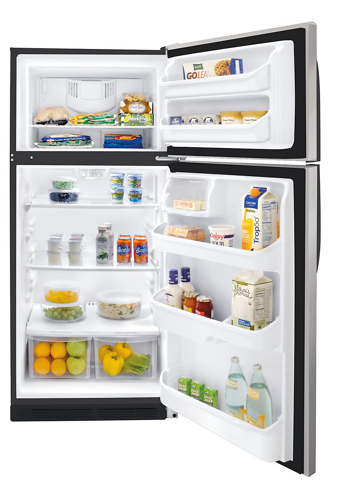 Kenmore 16.5 cu. ft. Top-Freezer Refrigerator - Stainless Steel