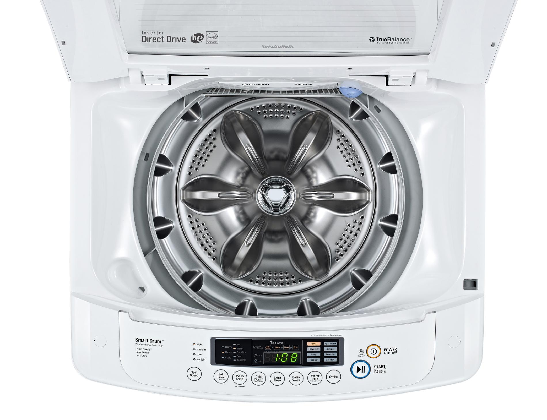 LG 3.6 cu. ft. Top-Load Washer - White
