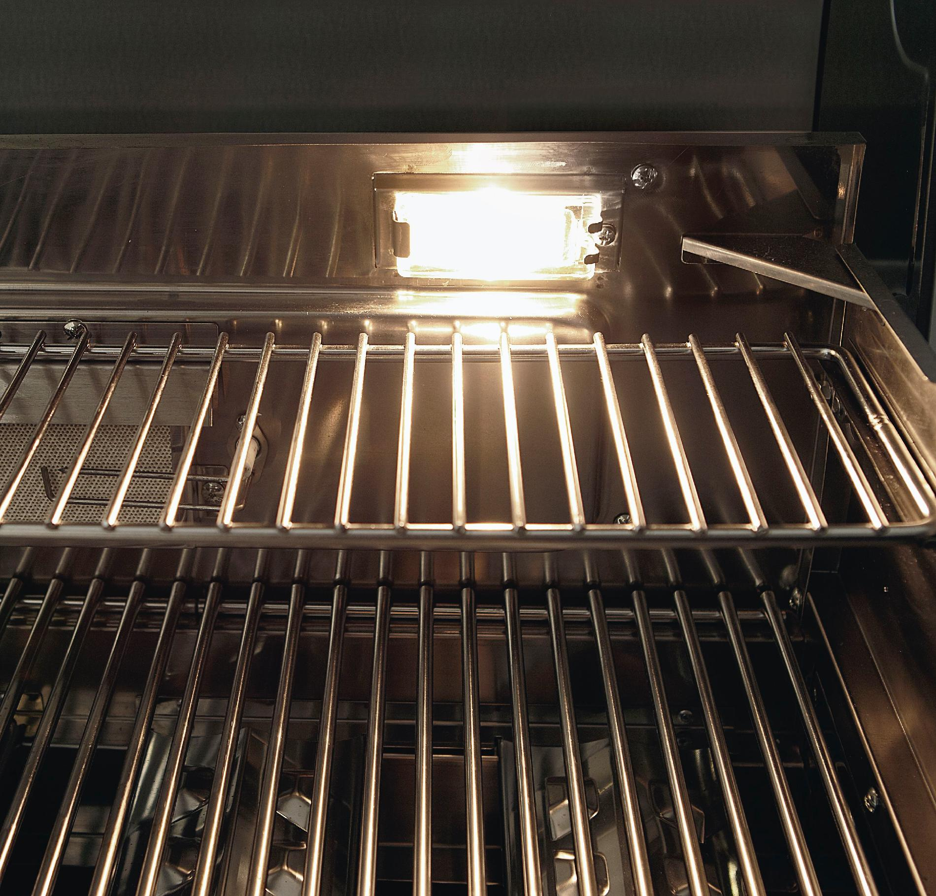 Kenmore 5-Burner Gas Grill with Ceramic Searing and Rotisserie Burners