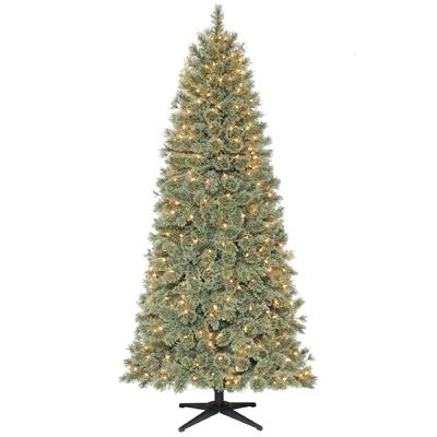Donner and Blitzen 6.5' 350 Light Pre-lit Harrison Cashmere Christmas Tree