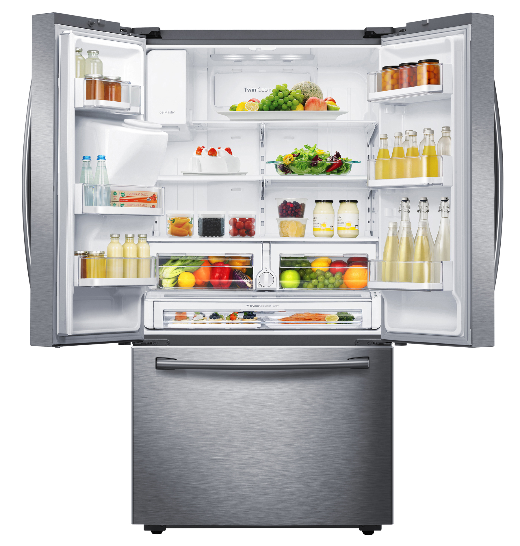 Samsung RF28HFEDBSR 28 cu.ft. French Door Refrigerator - Stainless Steel