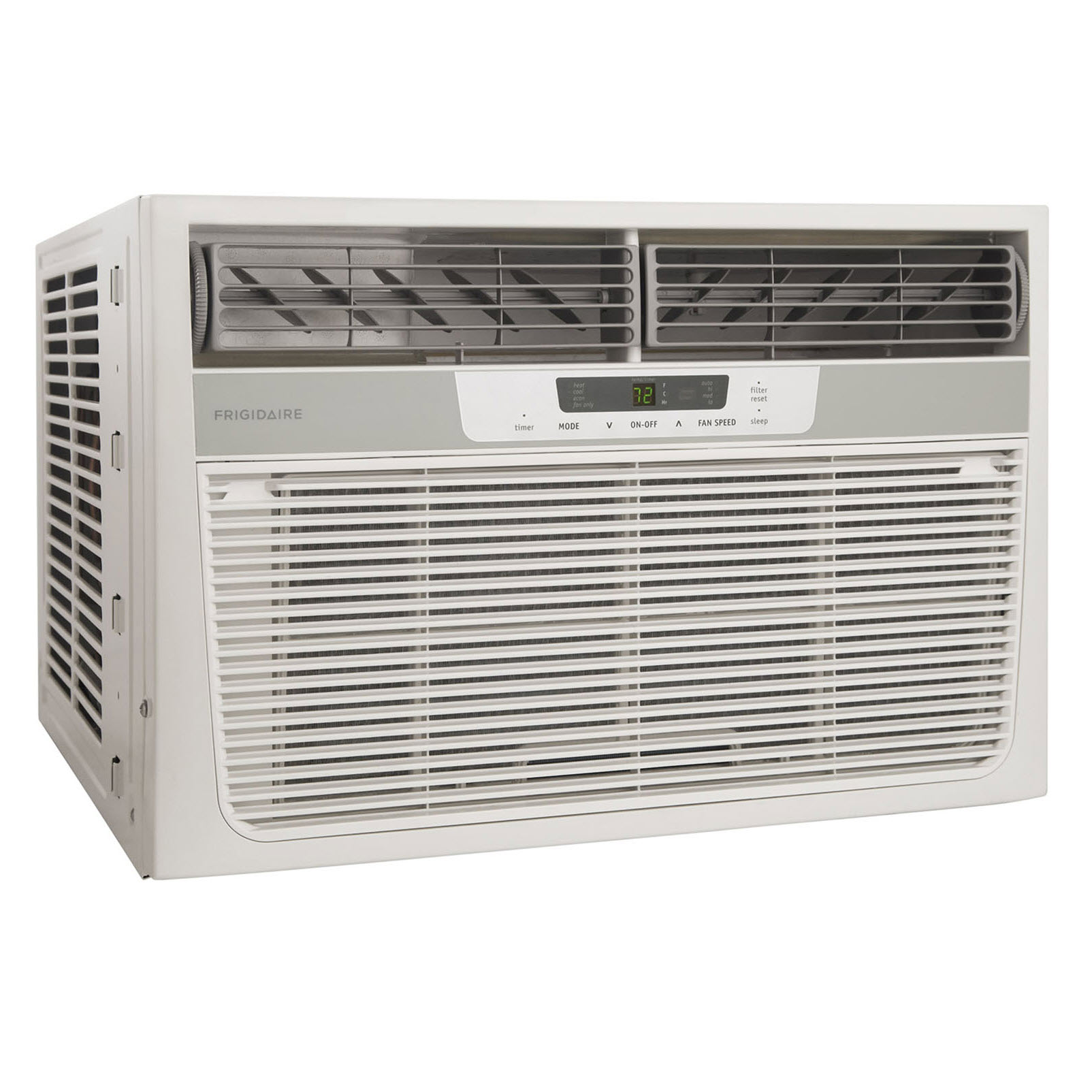 Frigidaire 8,000 BTU 115V Window-Mounted Compact Air Conditioner with 3,500 BTU Supplemental Heat Pump