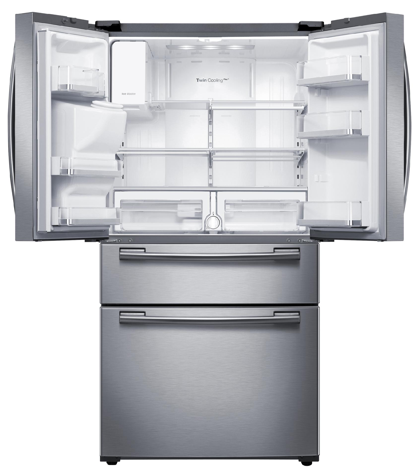 Samsung 25 cu. ft. 4-Door French Door Refrigerator - Stainless Steel