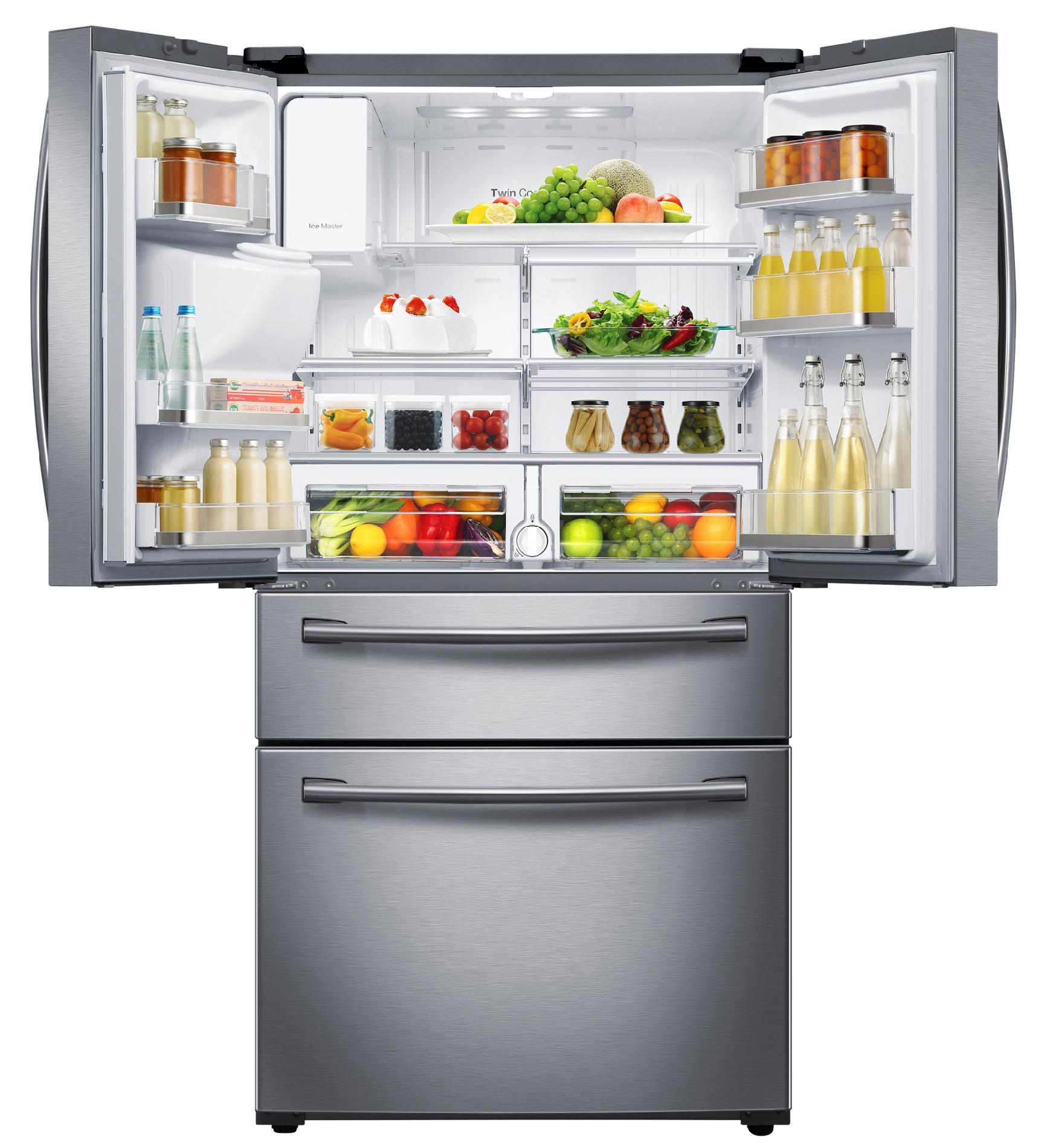 Samsung RF28HMEDBSR/AA 28 cu. ft. 4-Door French Door Refrigerator - Stainless Steel