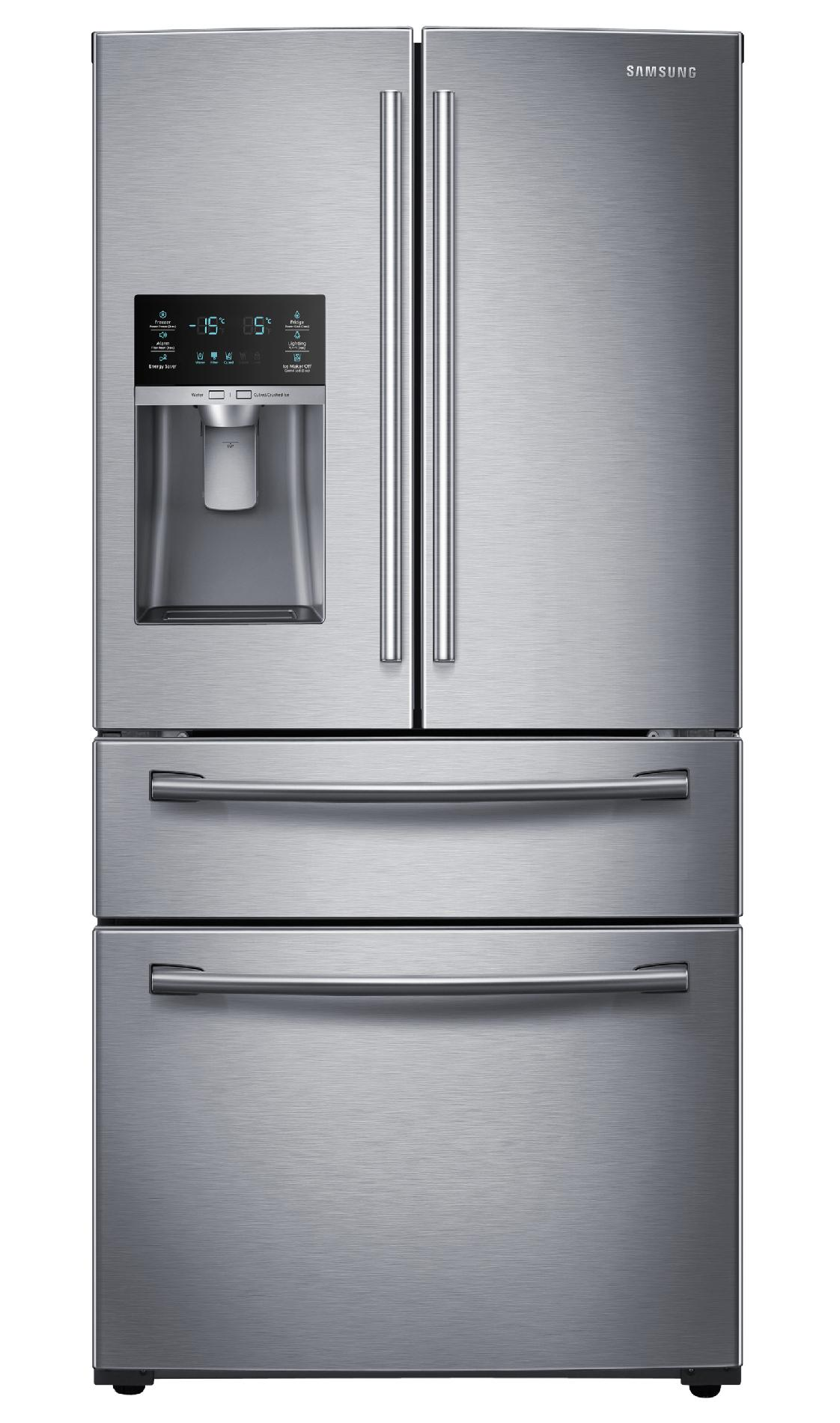 RF28HMEDBSR-AA-28-cu-ft-4-Door-French-Door-Refrigerator-Stainless-Steel