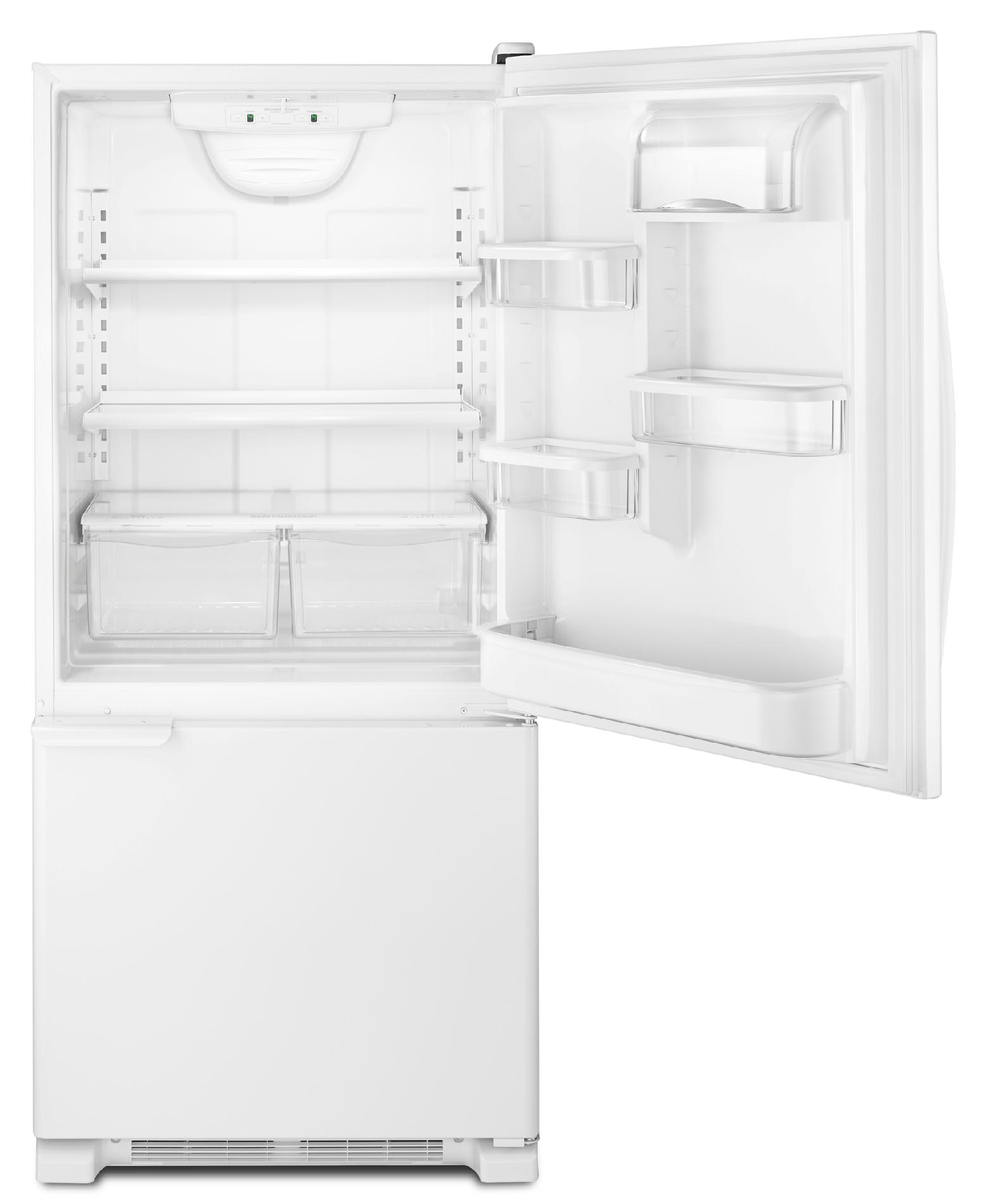 Kenmore 19 cu. ft. Bottom-Freezer Refrigerator - White