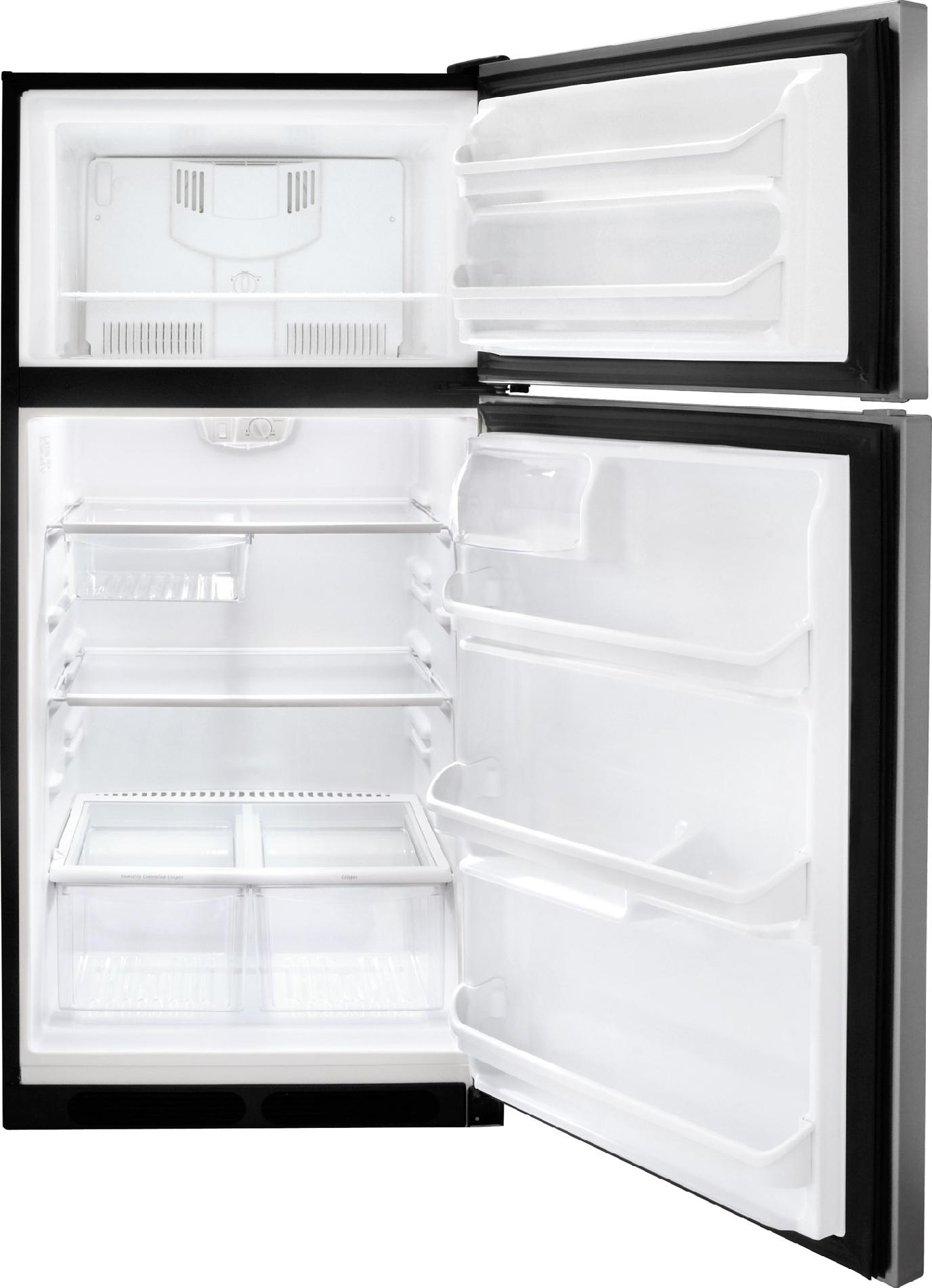 Frigidaire 18.2 cu. ft. Top Freezer Refrigerator - Stainless Steel