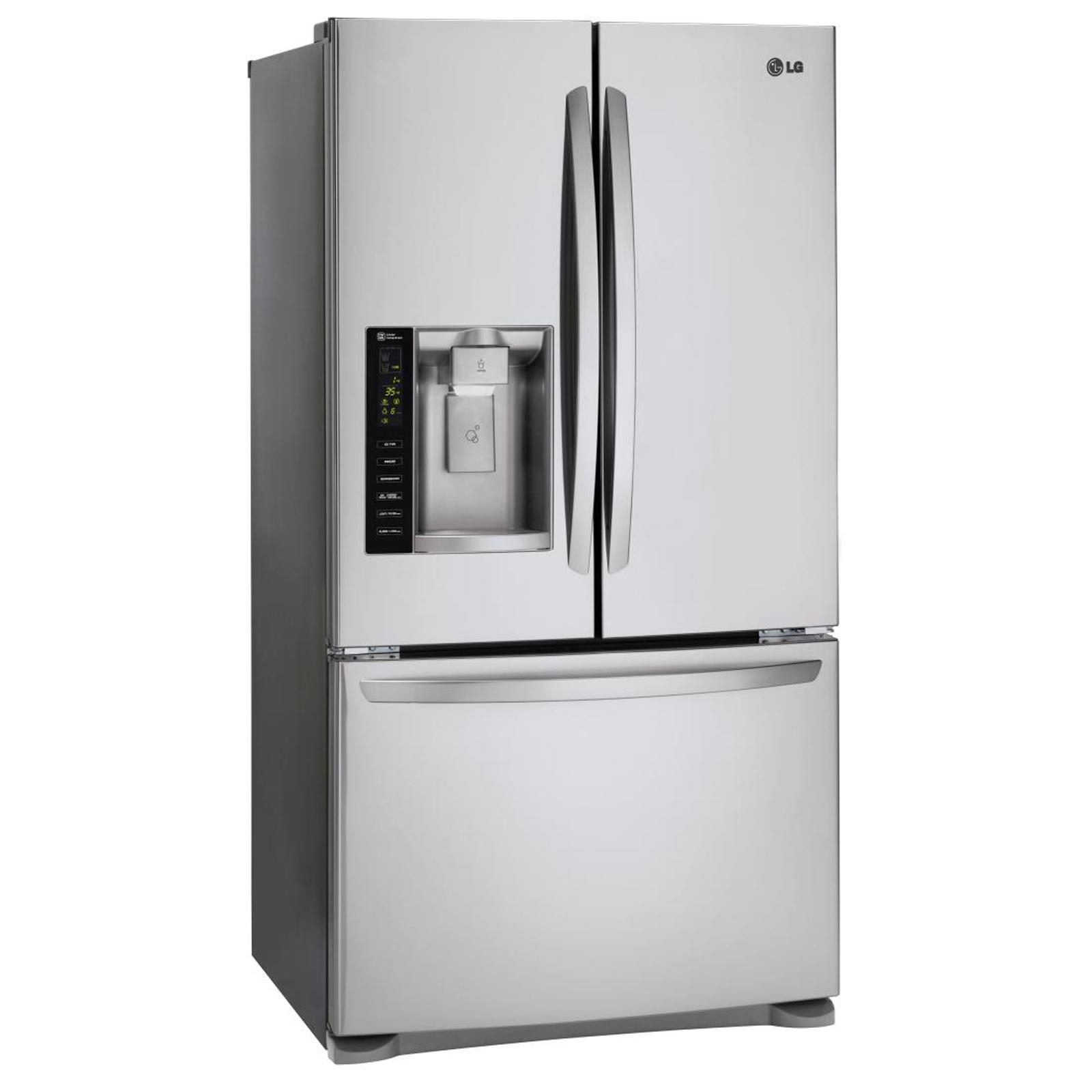 LG 20.5 cu. ft. Counter-Depth French-Door Bottom-Freezer Refrigerator