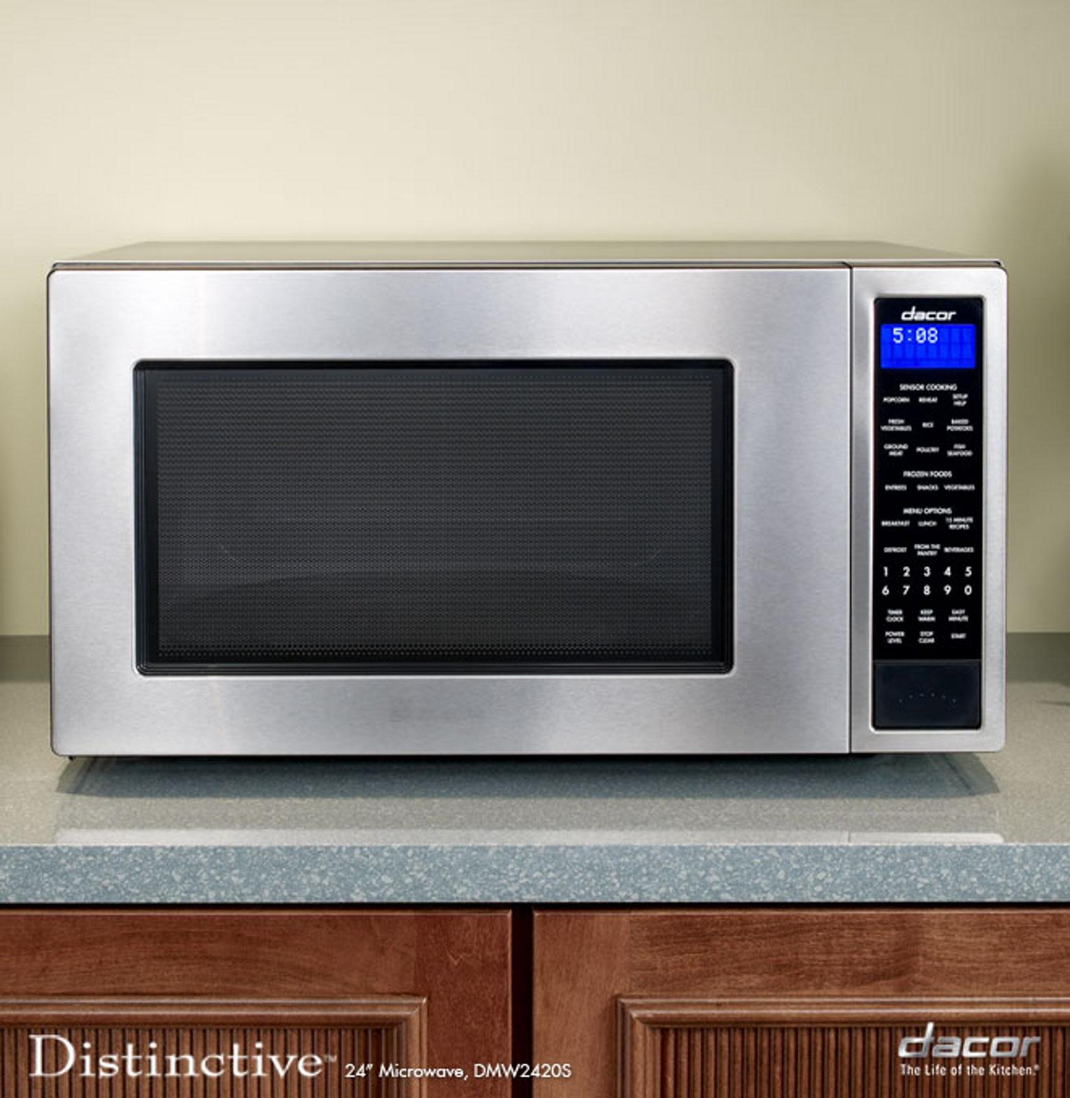 "Dacor Distinctive 24"" Microwave, Stainless Steel"