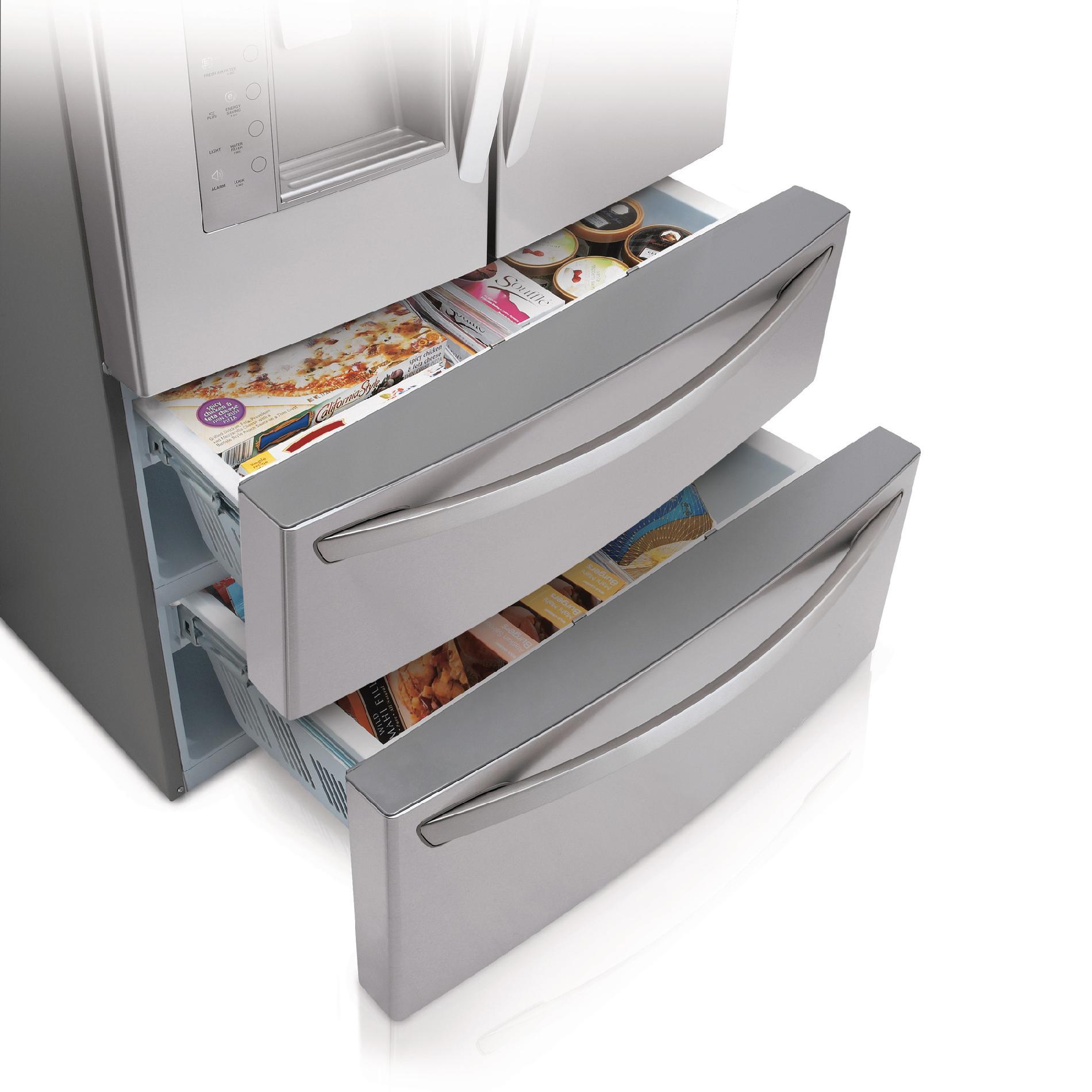 LG 30 cu.ft. 4-Door French Door Refrigerator w/ Door-in-Door