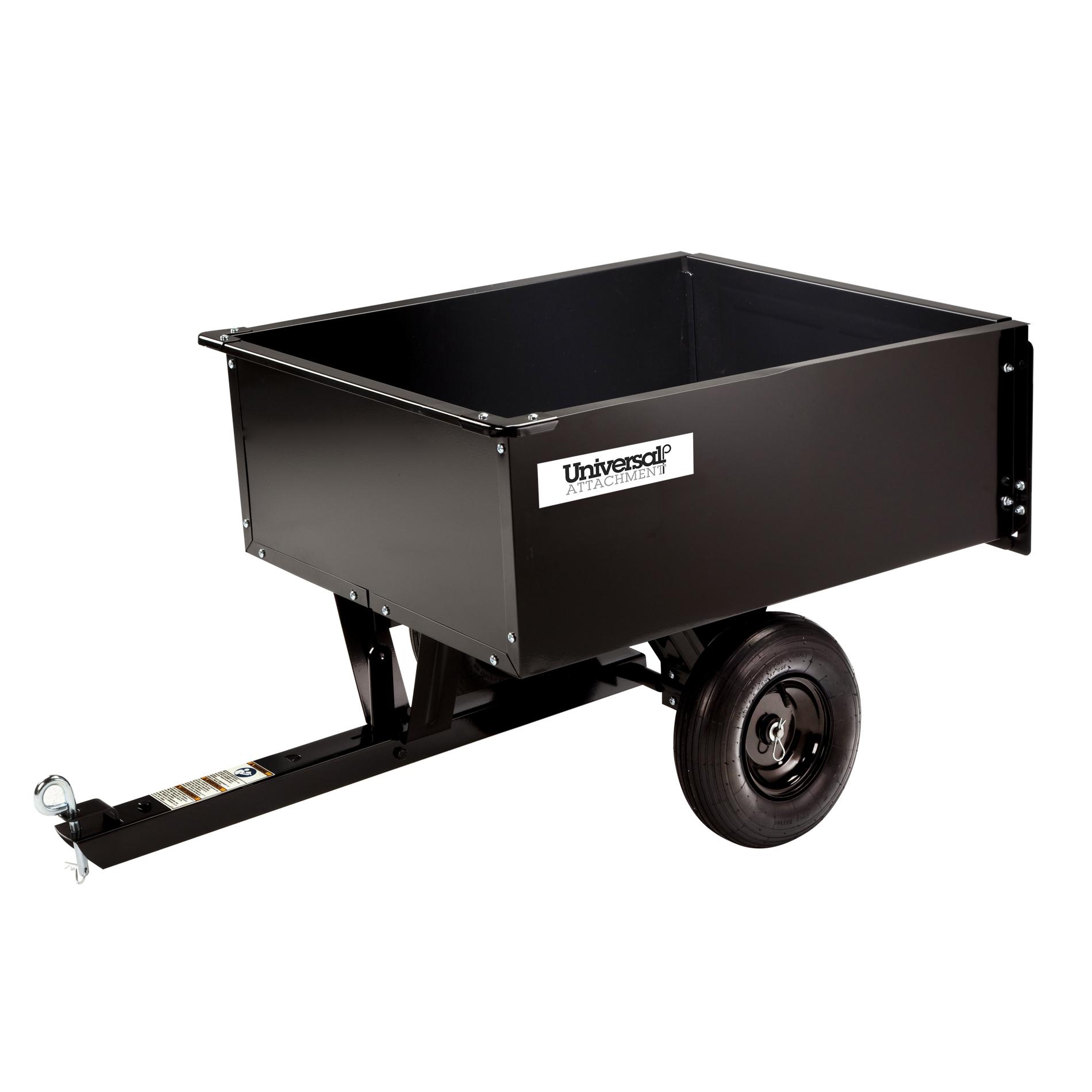 Universal 9 Cu Ft Steel Dump Cart