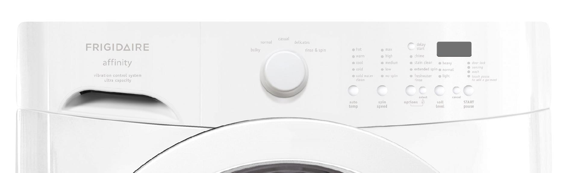 Frigidaire Affinity 3.3 cu. ft. Front-Load Washer - White