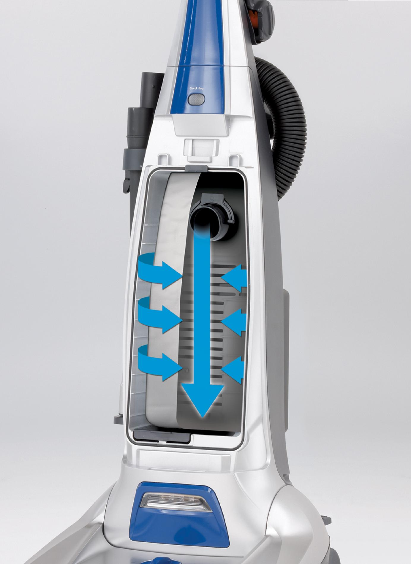 Kenmore 31140 Upright Vacuum Cleaner- Blue
