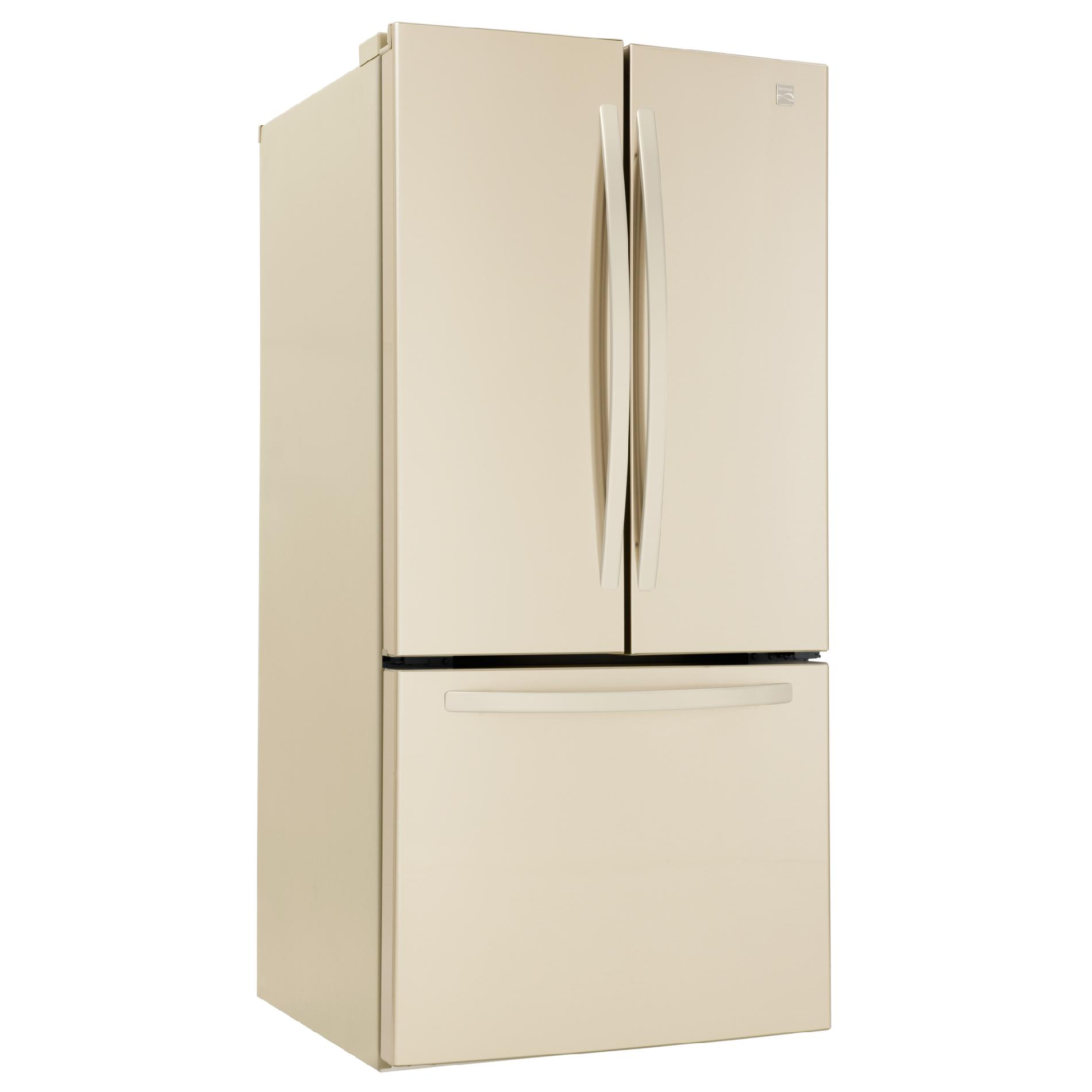 Kenmore 71314 23.9 Cu. Ft. French Door Bottom-Freezer Bisque Refrigerator