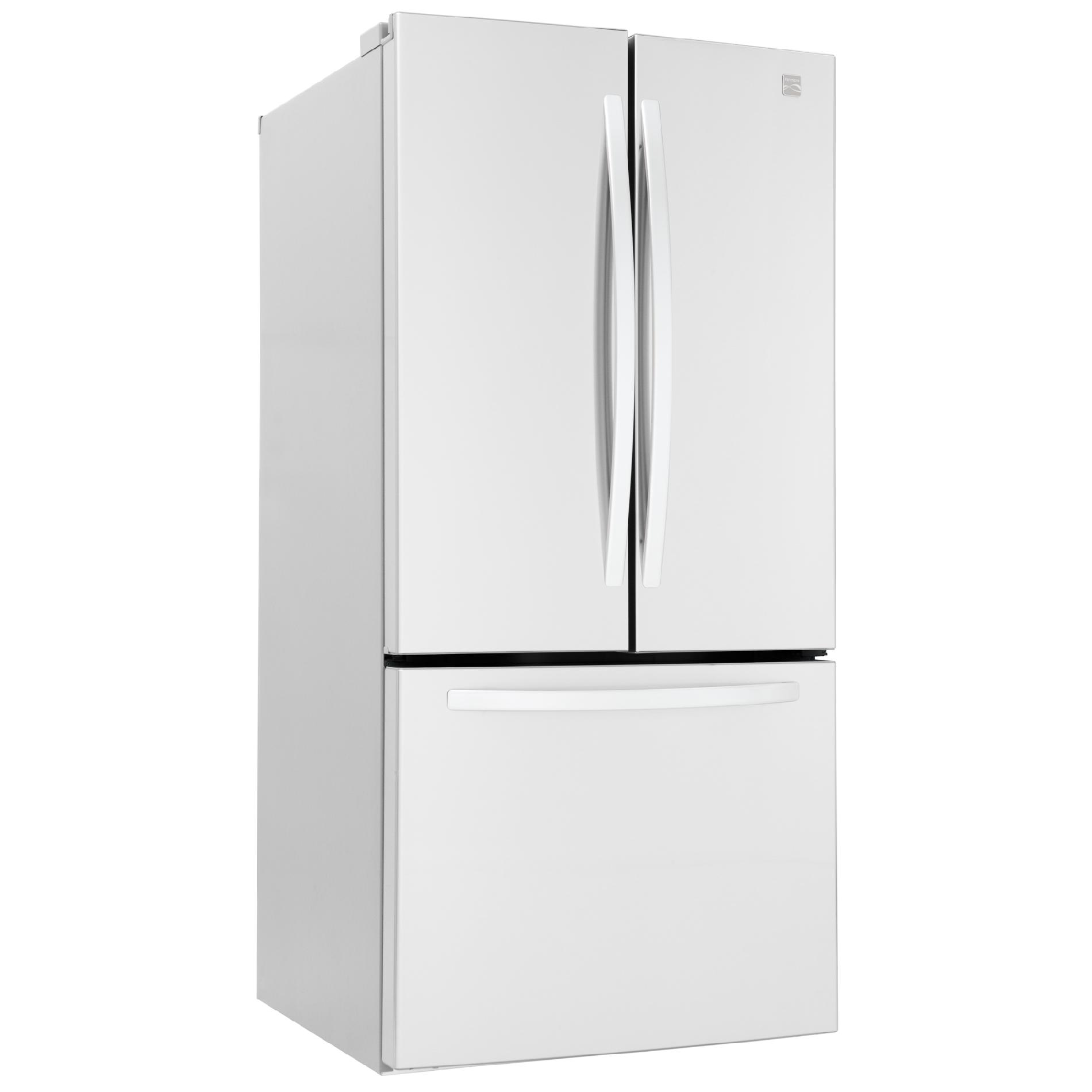 Kenmore 23.6 cu. ft.  French Door Bottom-Freezer Refrigerator - White