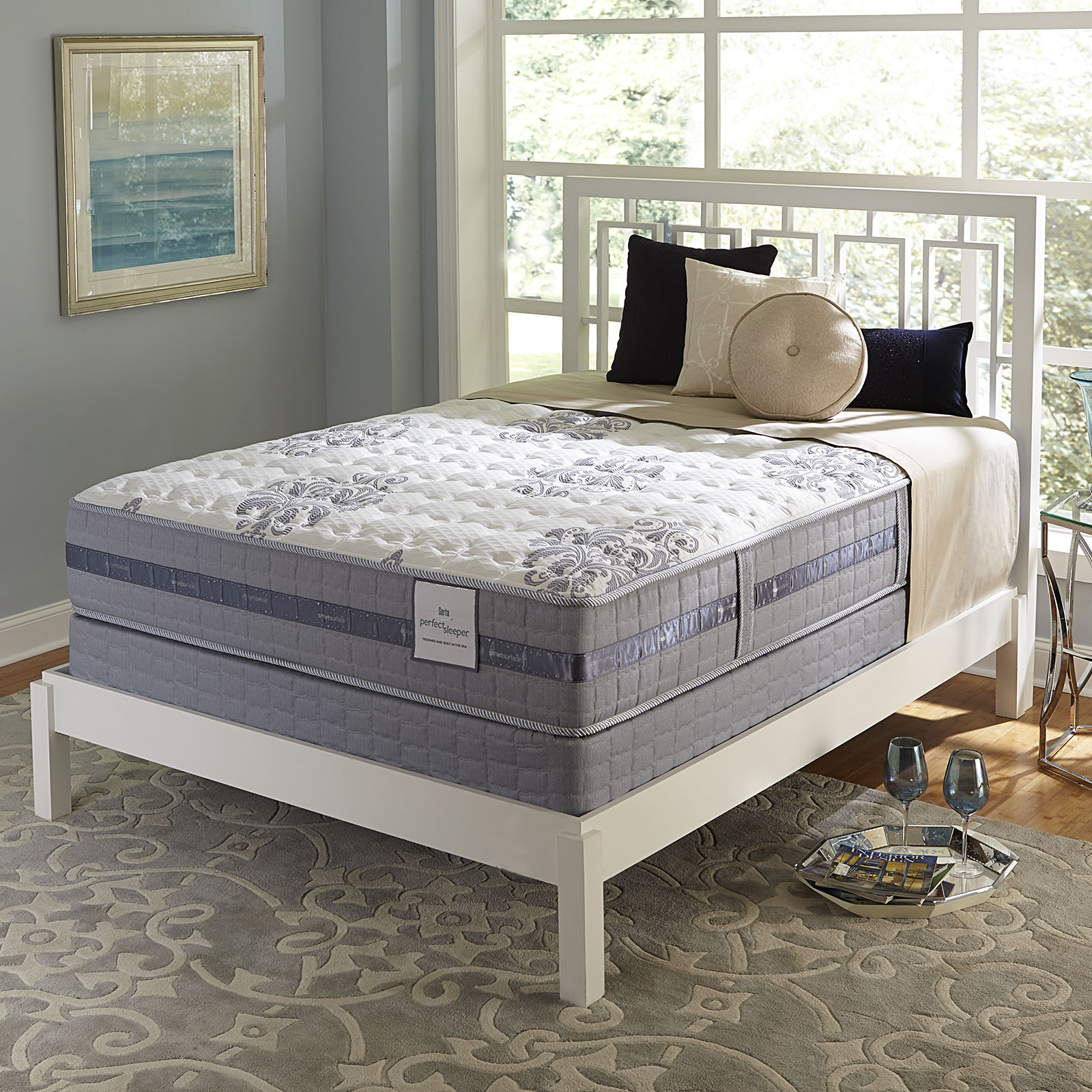 Serta Perfect Sleeper Perfect Sleeper Brightview Gel Extra Firm Queen  Mattress Only