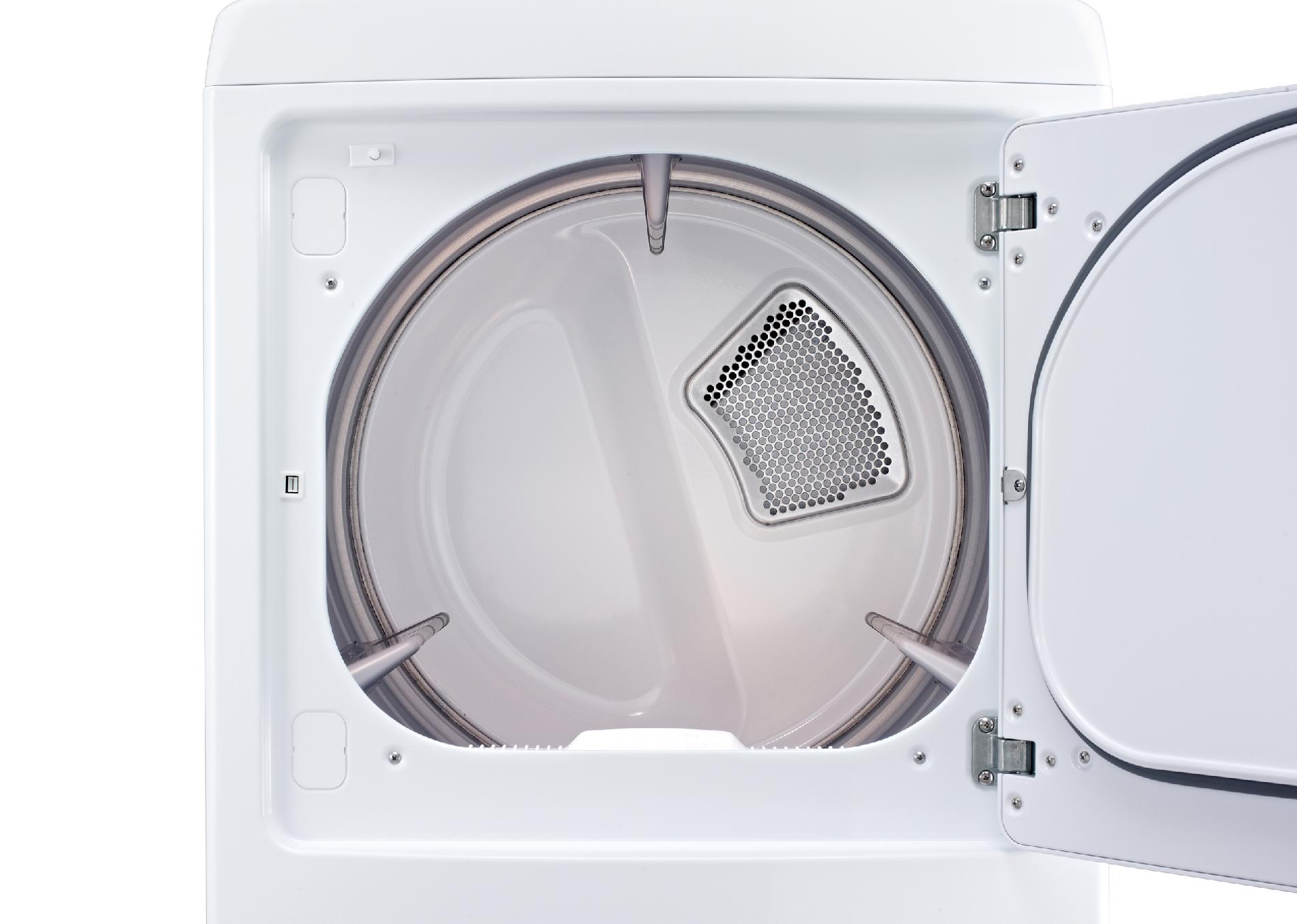LG 7.3 cu. ft. Ultra-Large Capacity Front Control Gas Dryer w/ Sensor Dry - White