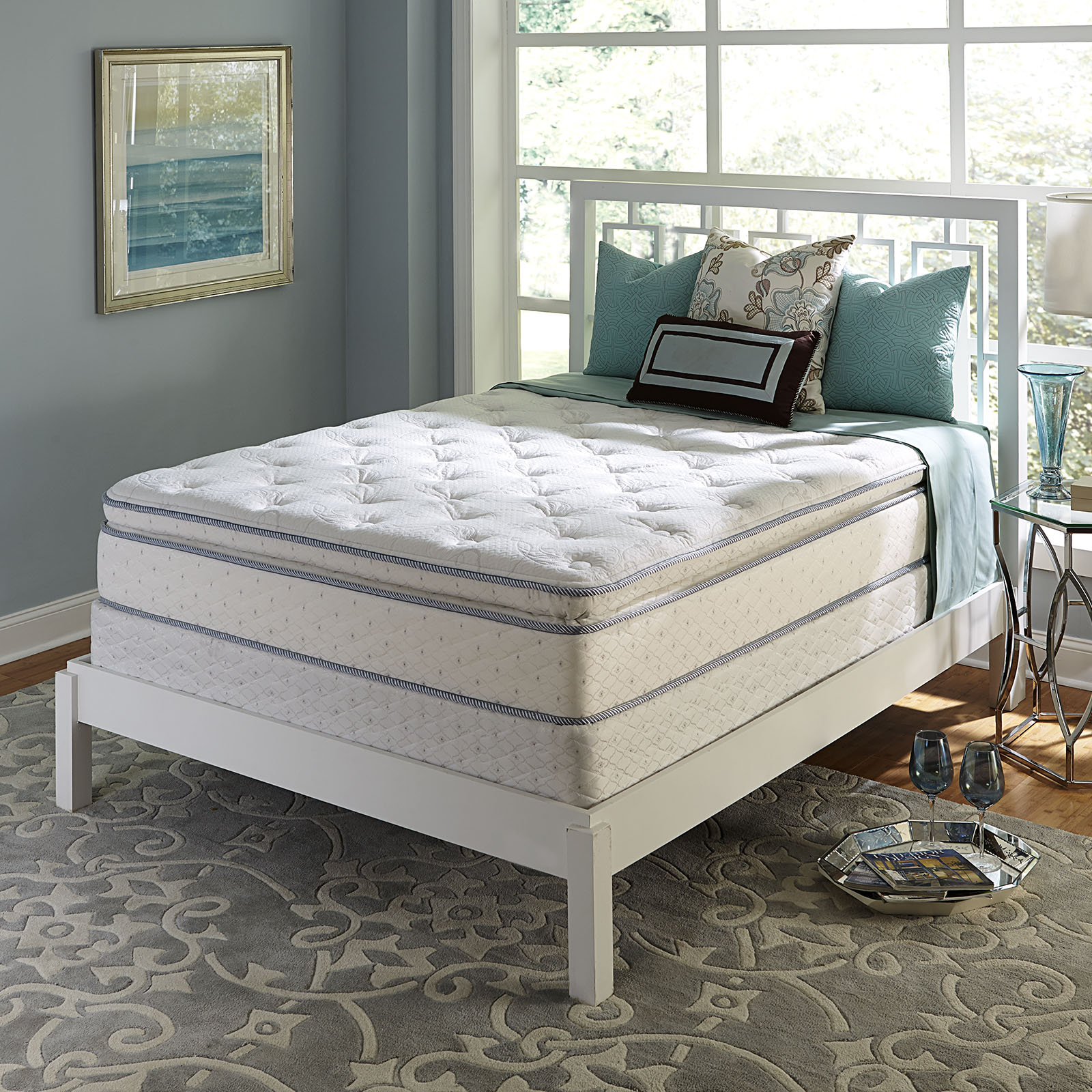 Serta Brand Addie Super PillowTop Mattress Only Queen