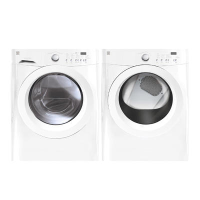 3.7 cu. ft. Front-Load Washer & 7.0 cu. ft. Gas Dryer Bundle