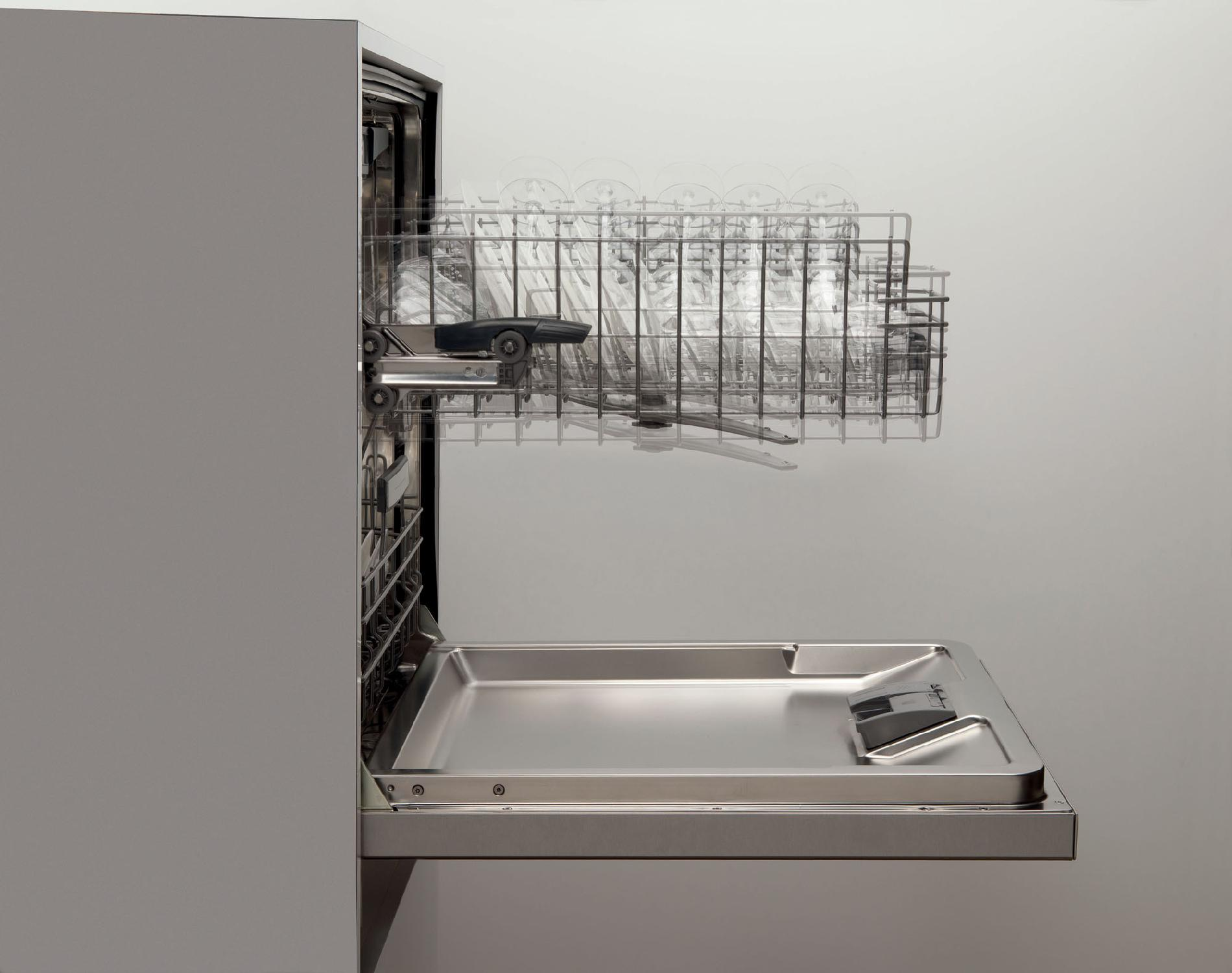 "Bosch 24"" Ascenta Built-In Dishwasher - Stainless Steel"