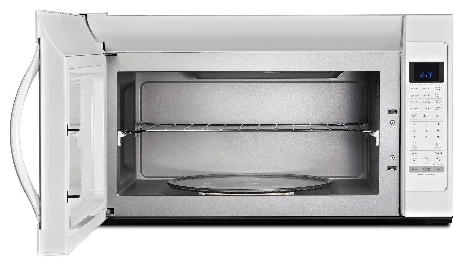 Whirlpool WMH53520CW 2.0 cu. ft. Over-the-Range Microwave w/ CleanRelease® Non-Stick Interior - White
